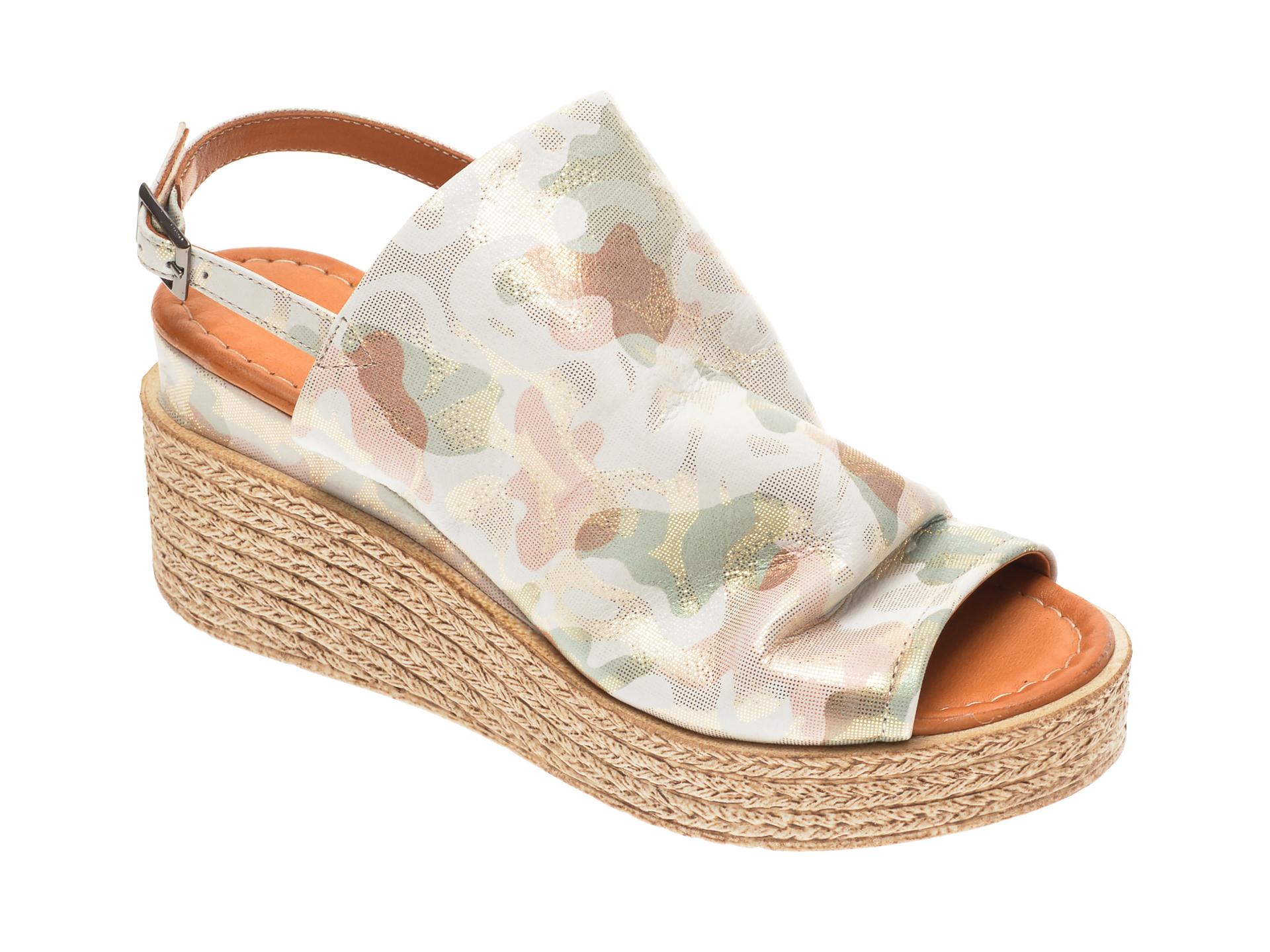 Sandale FLAVIA PASSINI multicolore, 1182832, din piele naturala