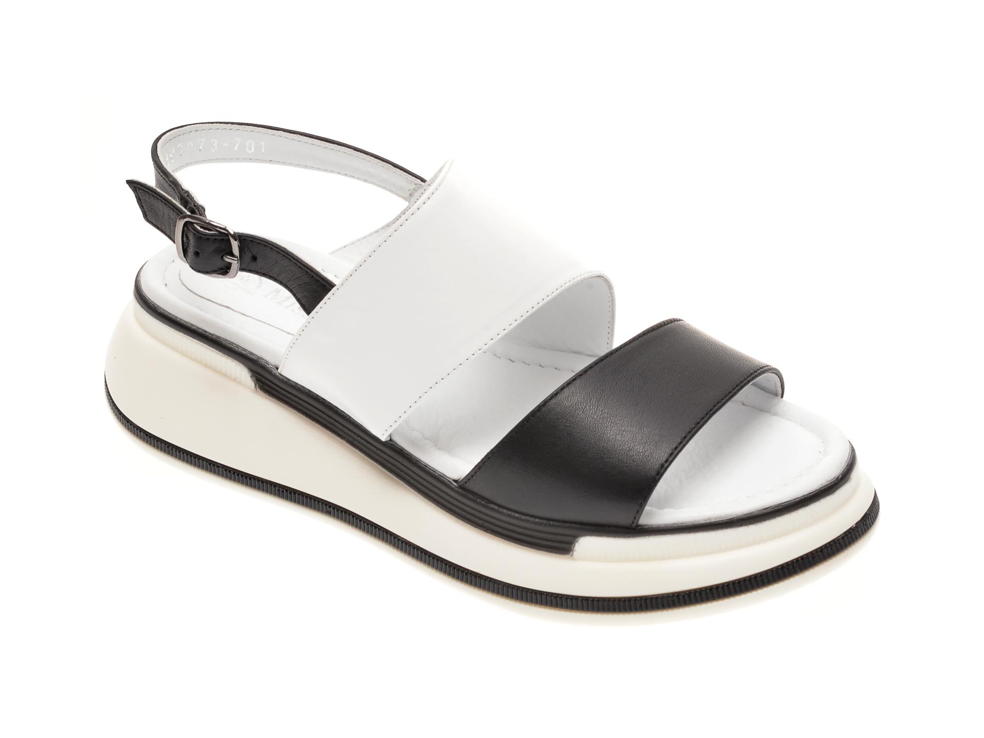 Sandale FLAVIA PASSINI negre, 1182560, din piele naturala