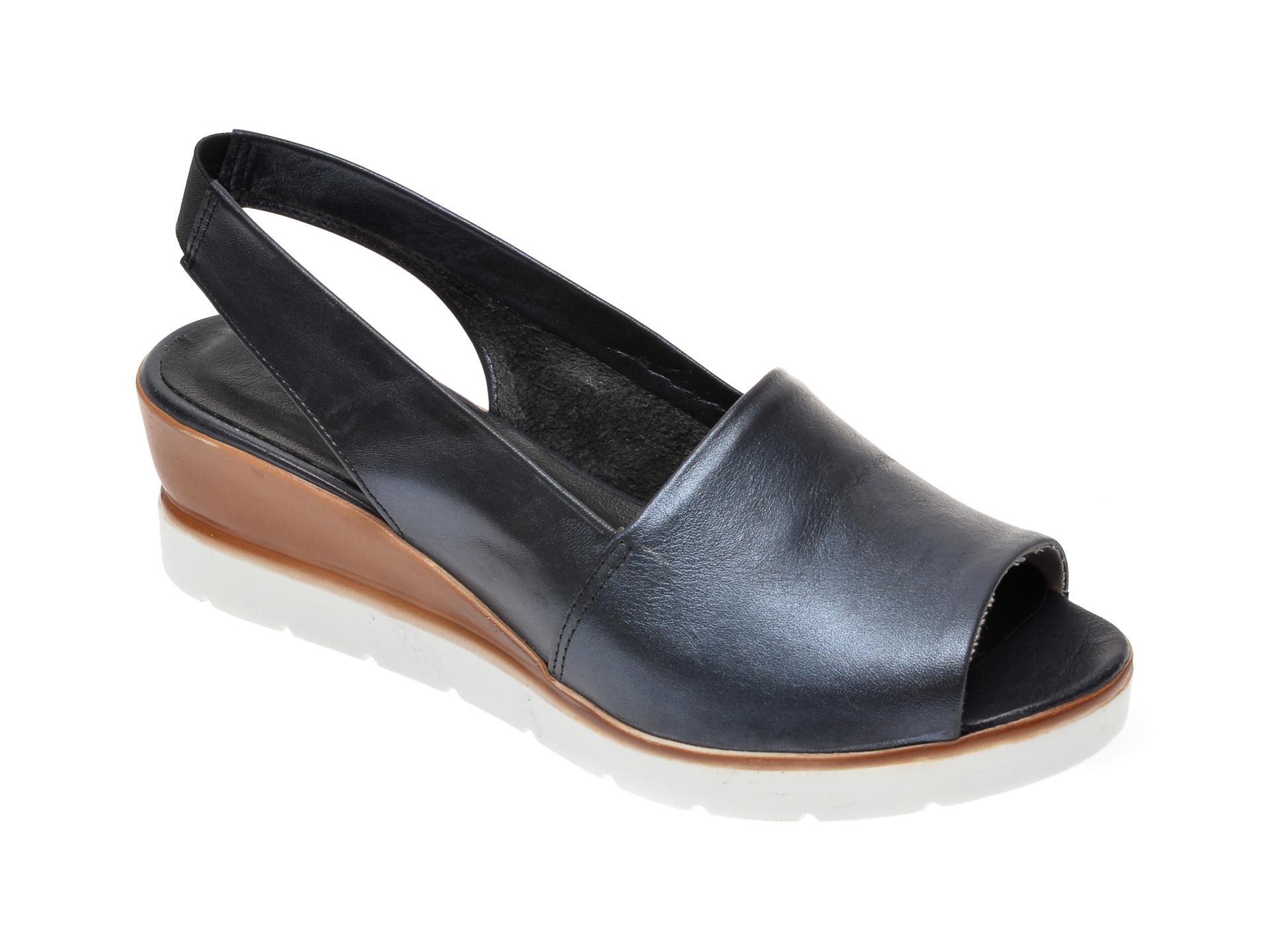 Sandale FLAVIA PASSINI negre, 2103, din piele naturala