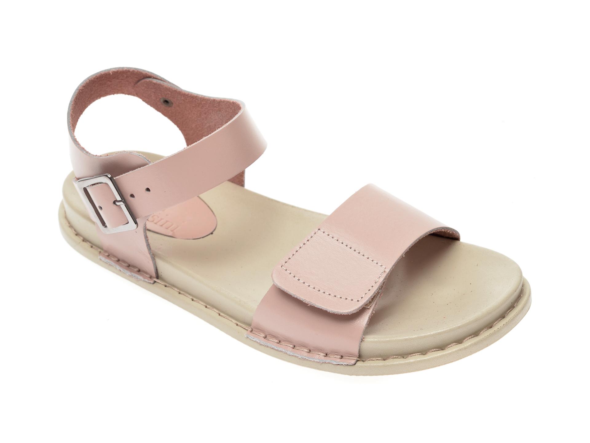 Sandale FLAVIA PASSINI nude, 1306, din piele naturala
