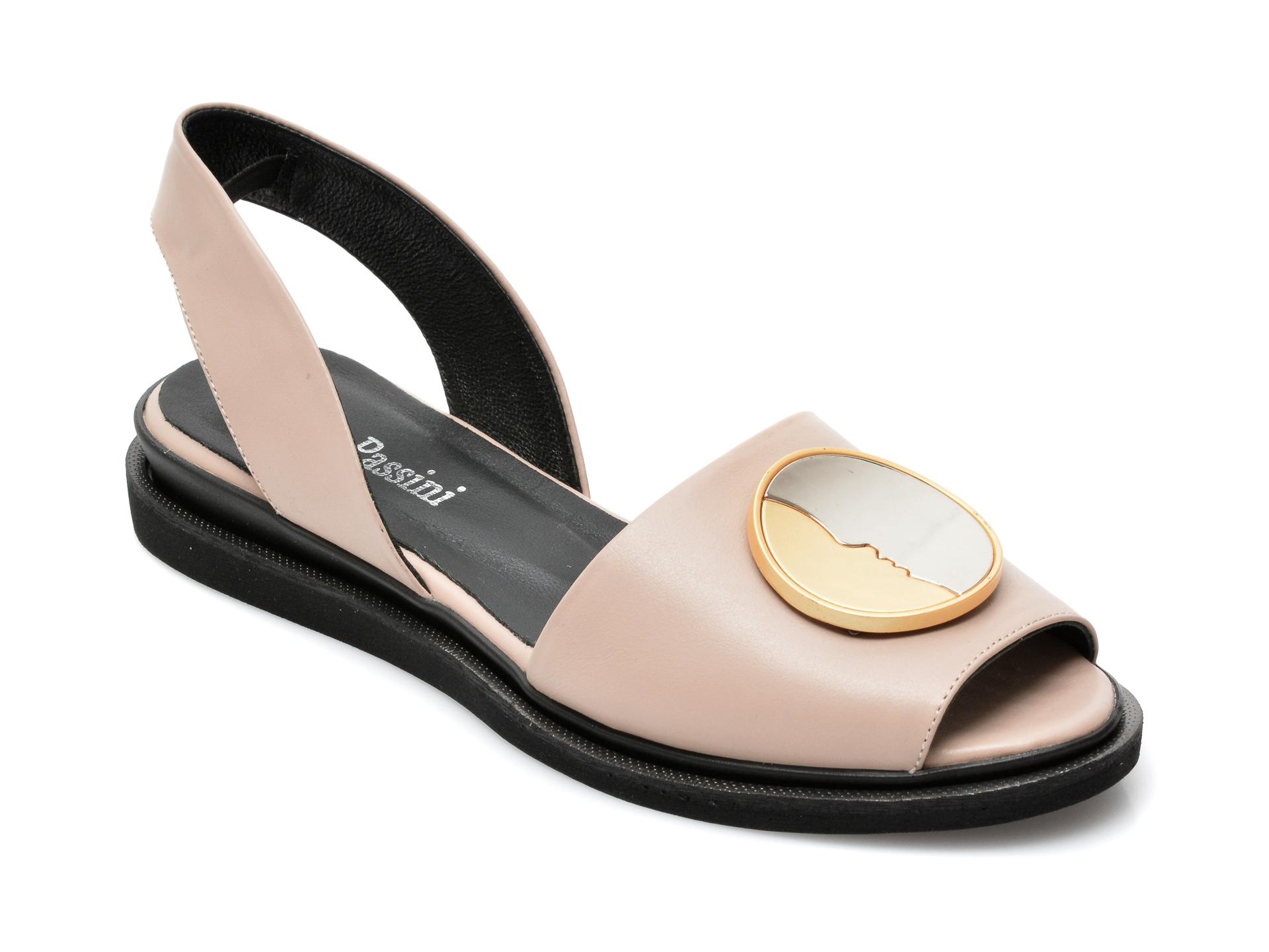 Sandale FLAVIA PASSINI nude, 1582021, din piele naturala imagine otter.ro 2021