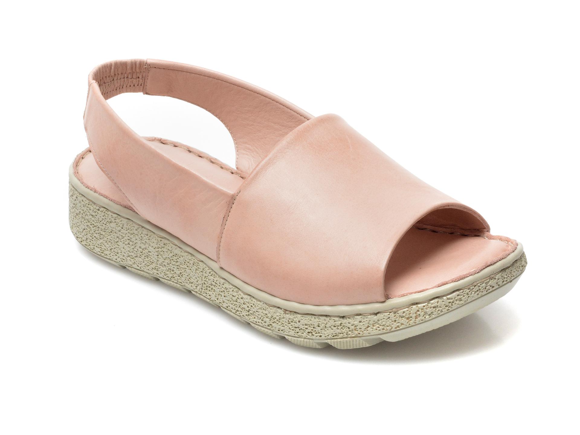 Sandale FLAVIA PASSINI nude, 2706, din piele naturala