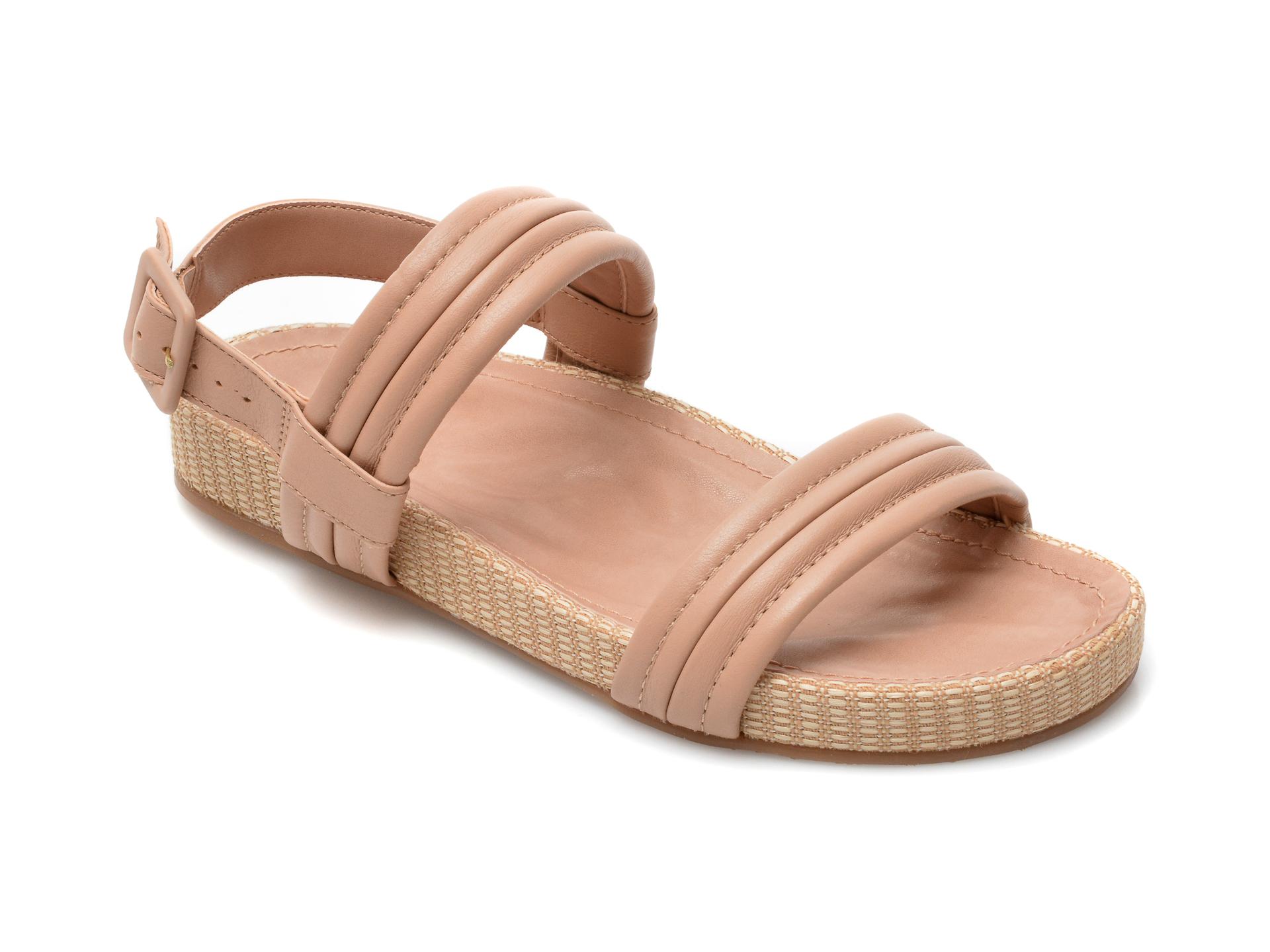 Sandale FLAVIA PASSINI nude, 6019701, din piele naturala