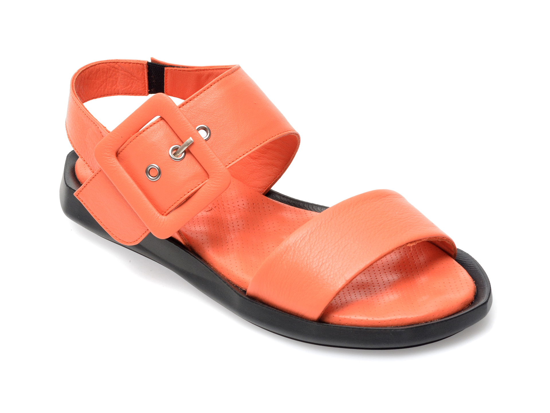 Sandale FLAVIA PASSINI portocalii, 6546, din piele naturala imagine otter.ro 2021