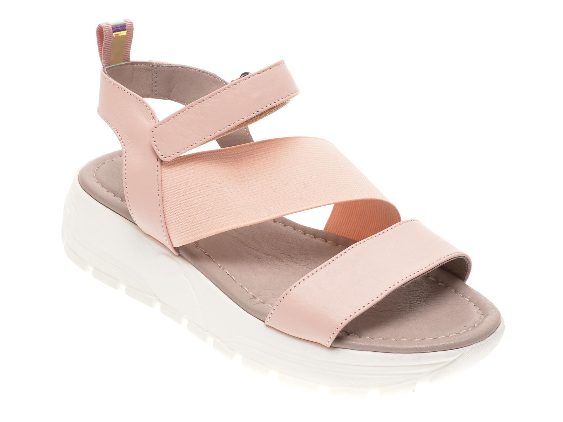 Sandale FLAVIA PASSINI roz, 0021671, din piele naturala