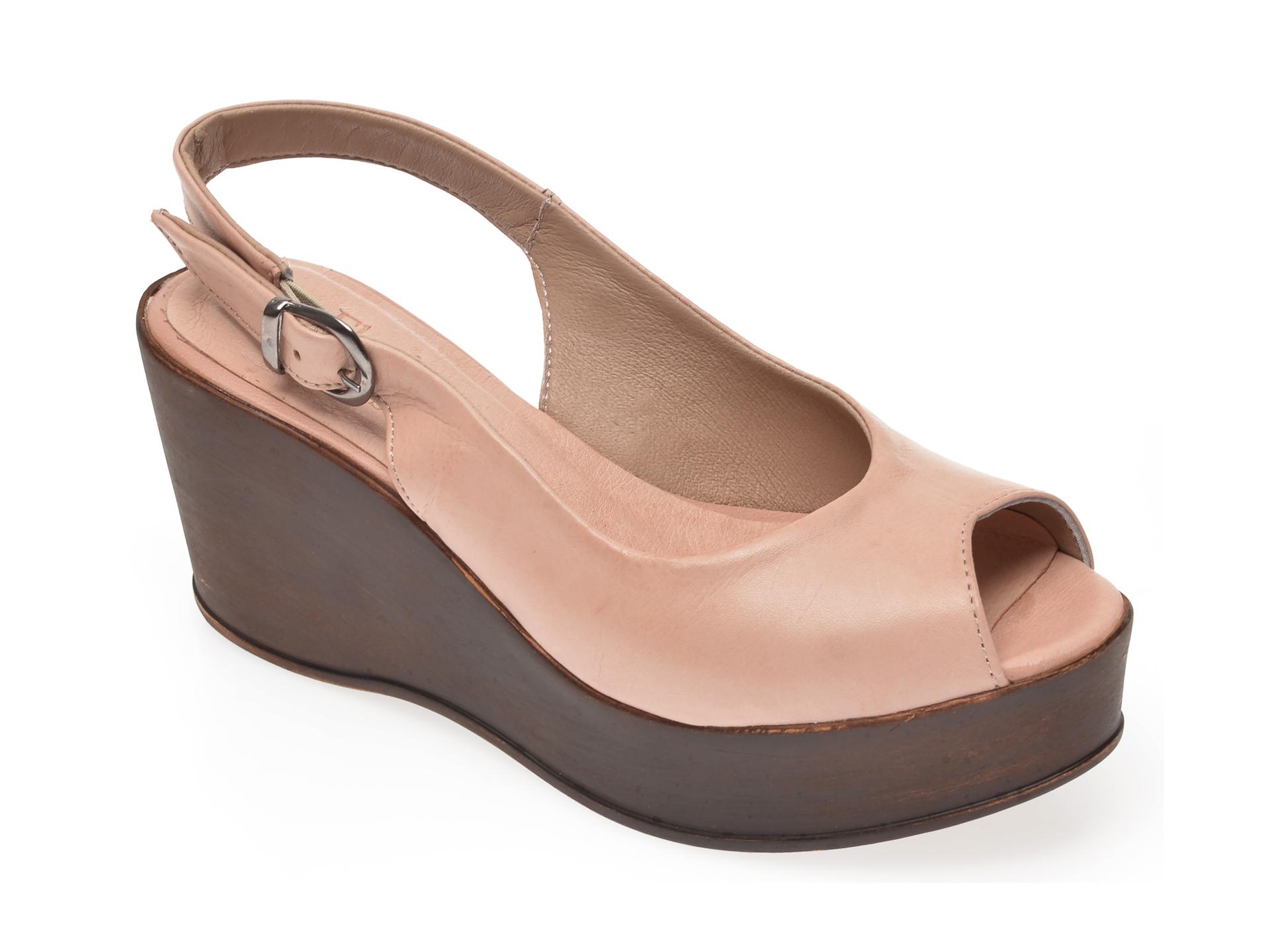 Sandale FLAVIA PASSINI roz, 1110, din piele naturala