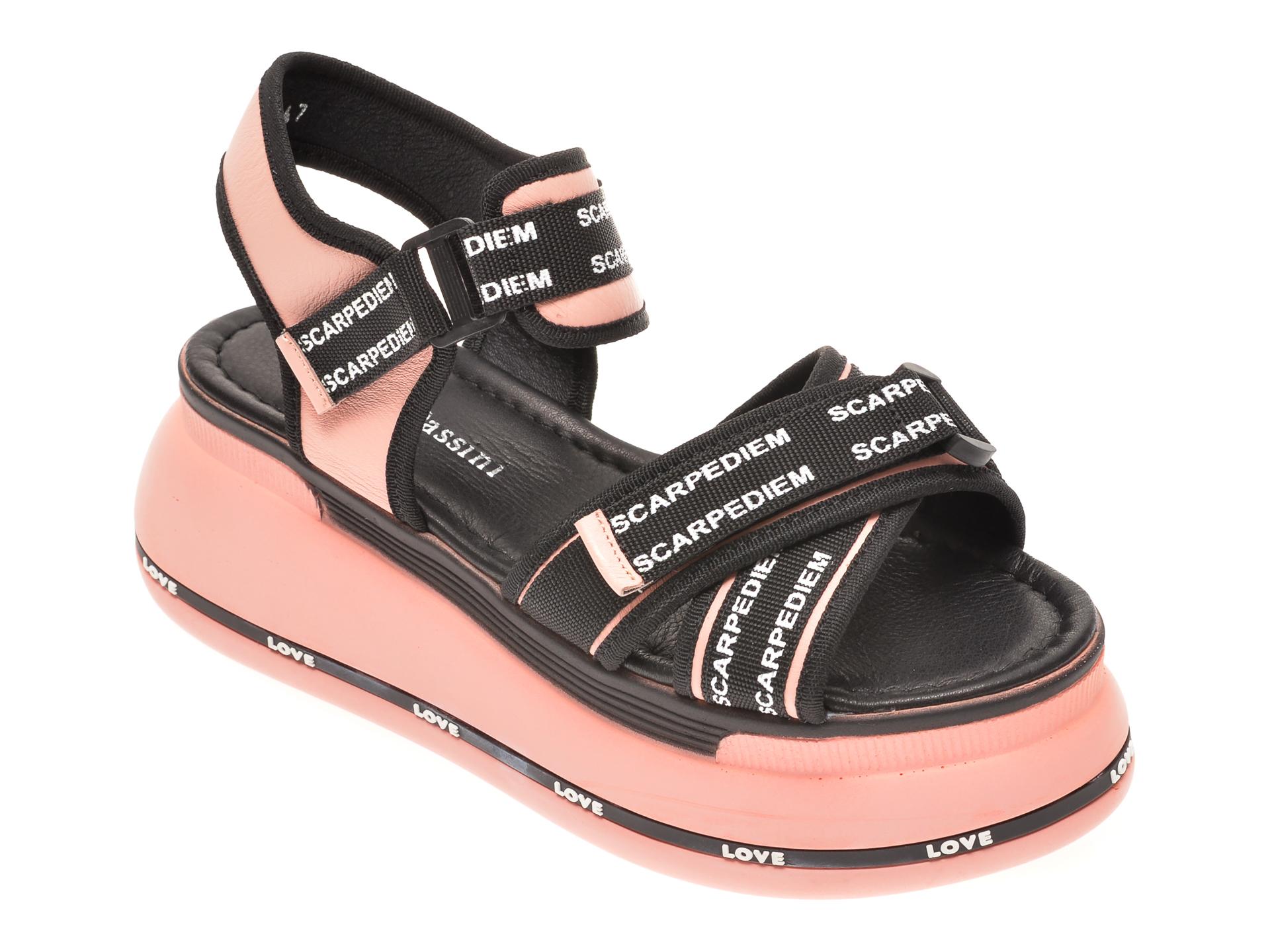 Sandale FLAVIA PASSINI roz, 1182381, din piele naturala