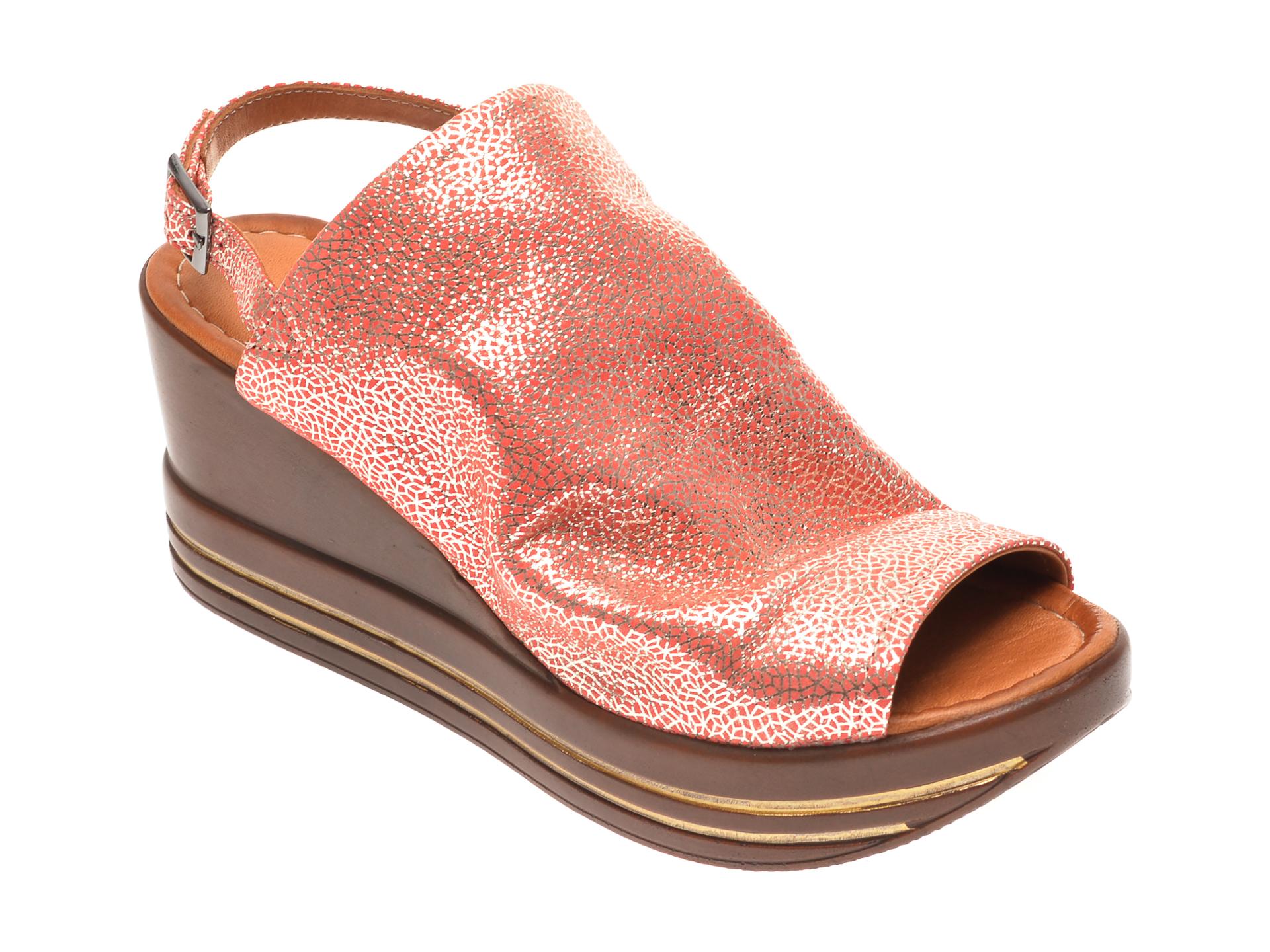 Sandale FLAVIA PASSINI roz, 1182725, din piele naturala