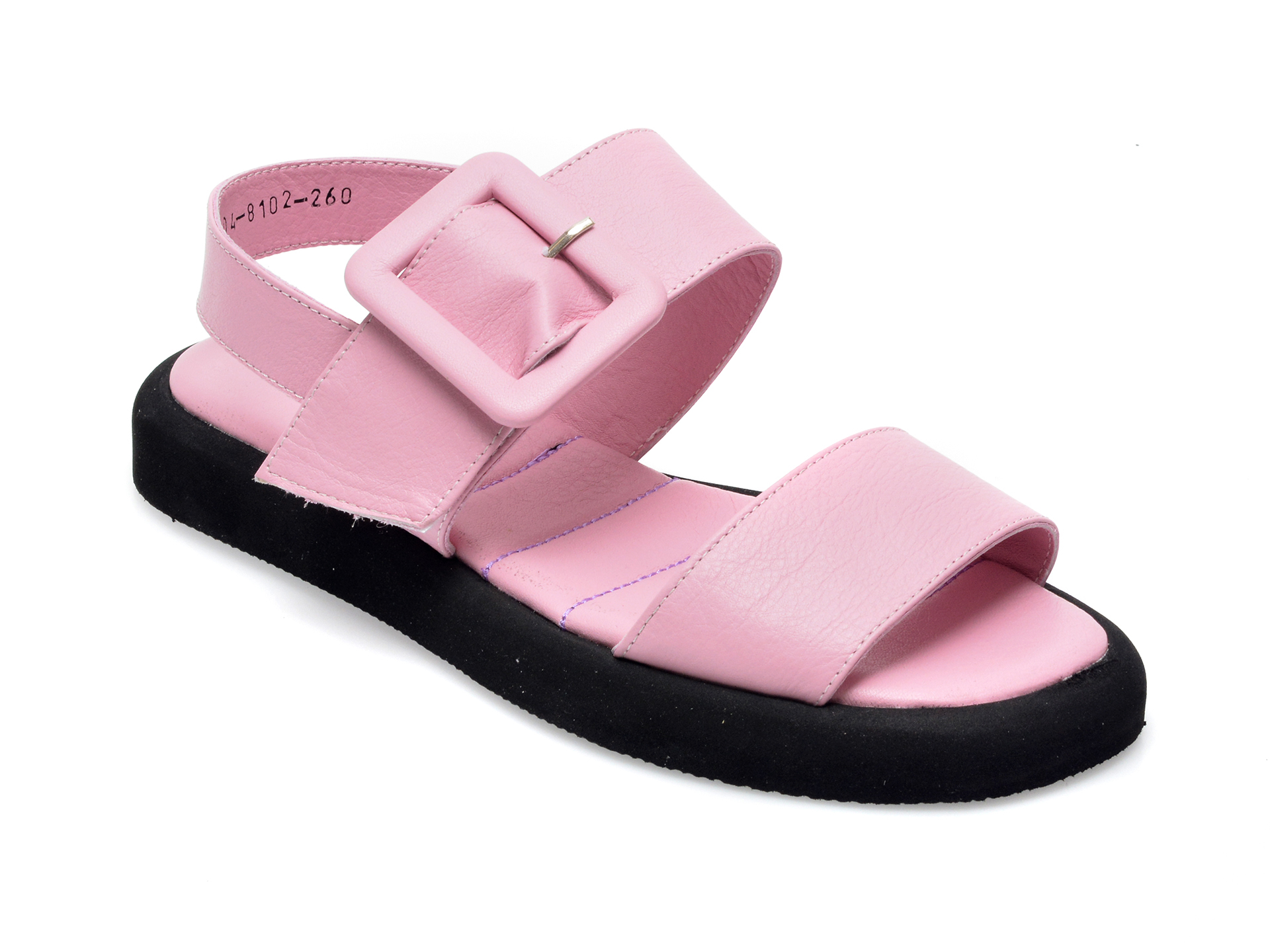 Sandale FLAVIA PASSINI roz, 2048102, din piele naturala imagine otter.ro 2021