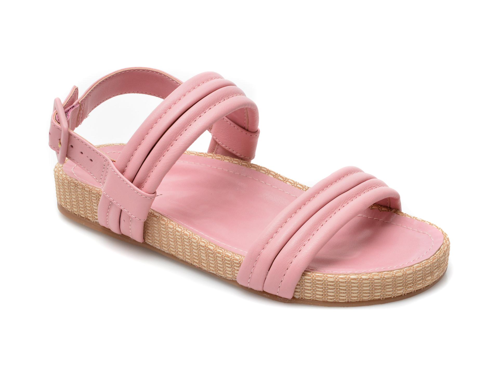 Sandale FLAVIA PASSINI roz, 6019701, din piele naturala imagine otter.ro 2021