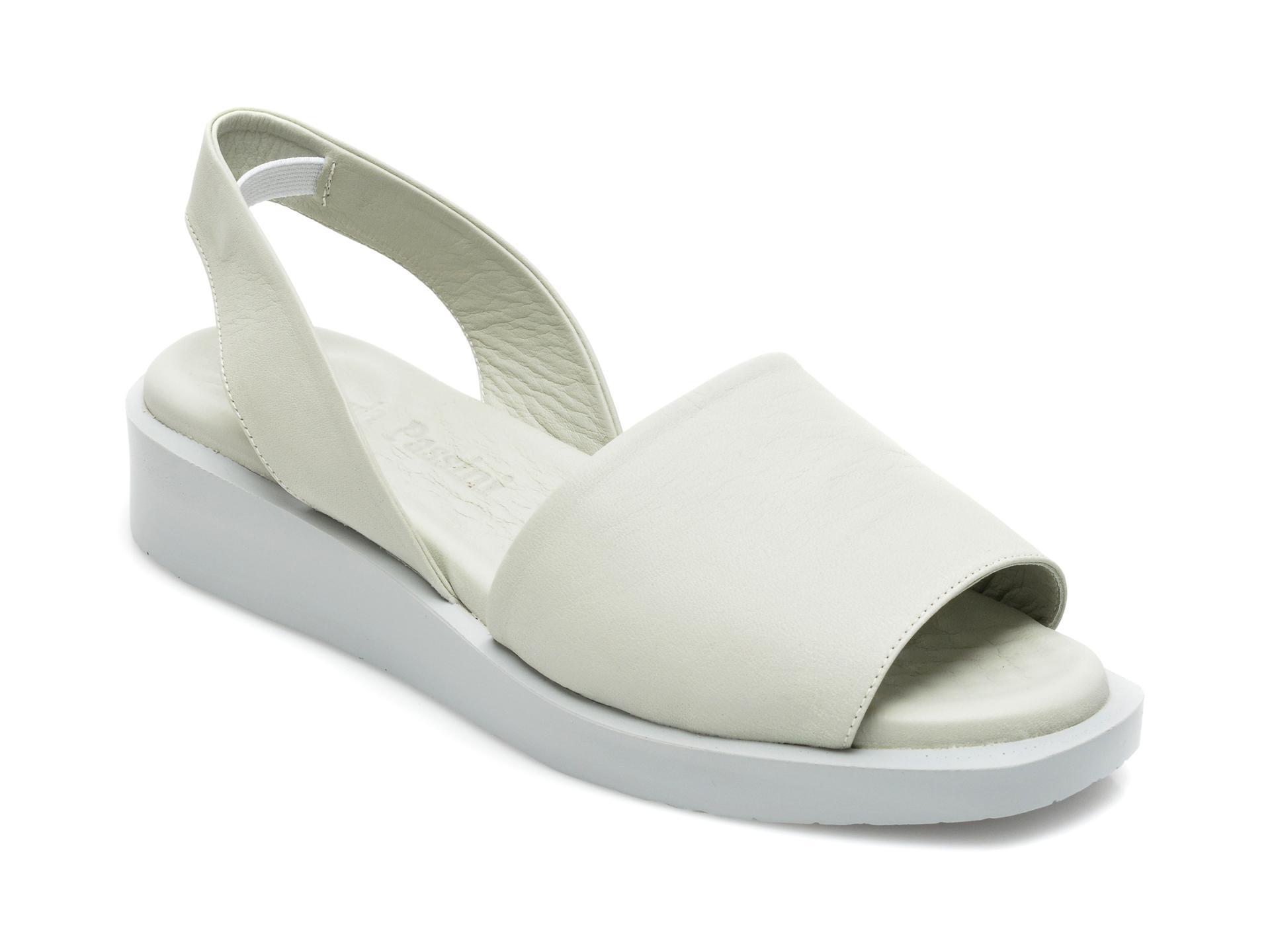 Sandale FLAVIA PASSINI verzi, 1582018, din piele naturala imagine otter.ro 2021