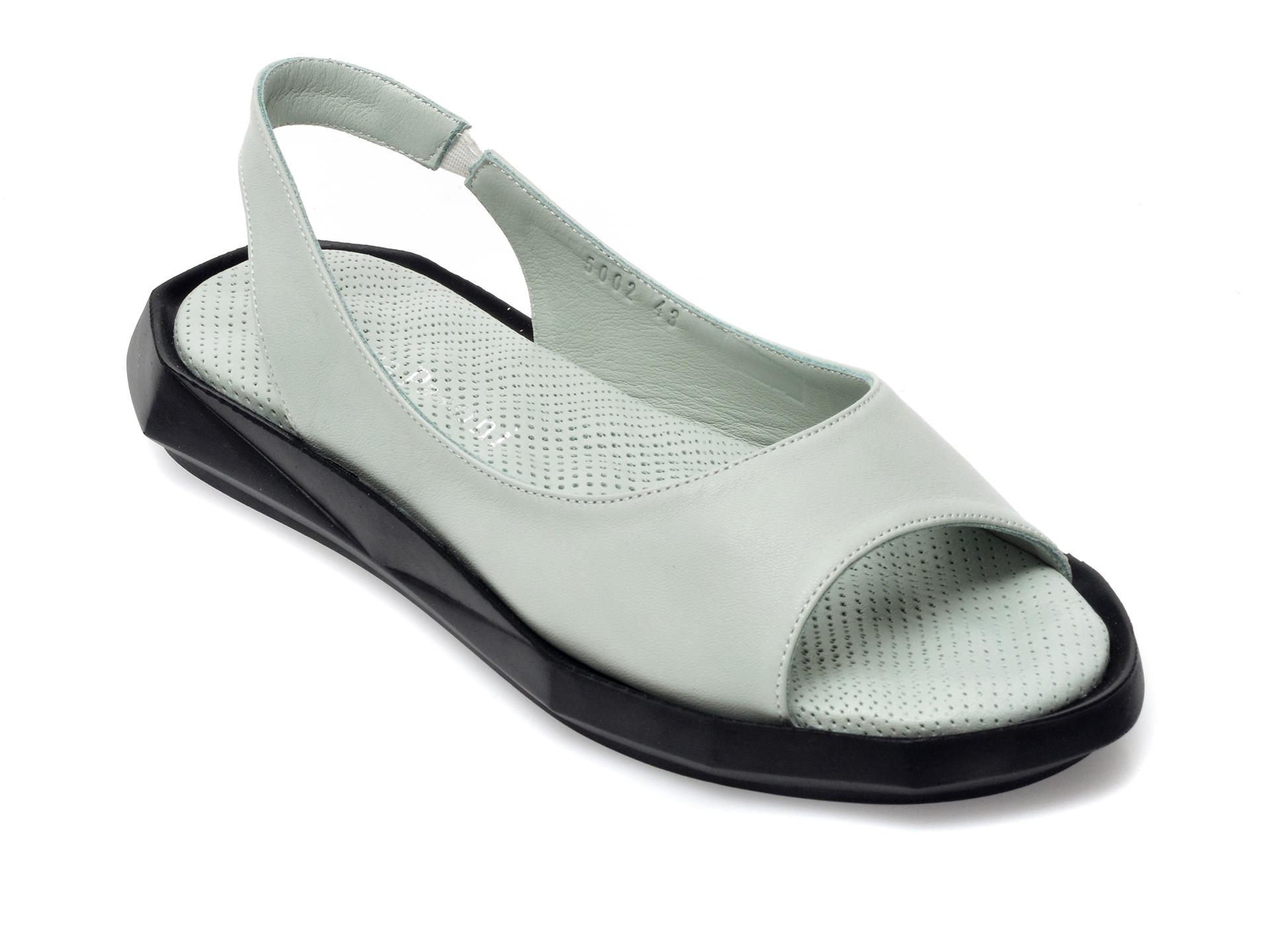 Sandale FLAVIA PASSINI verzi, 705002, din piele naturala imagine otter.ro 2021