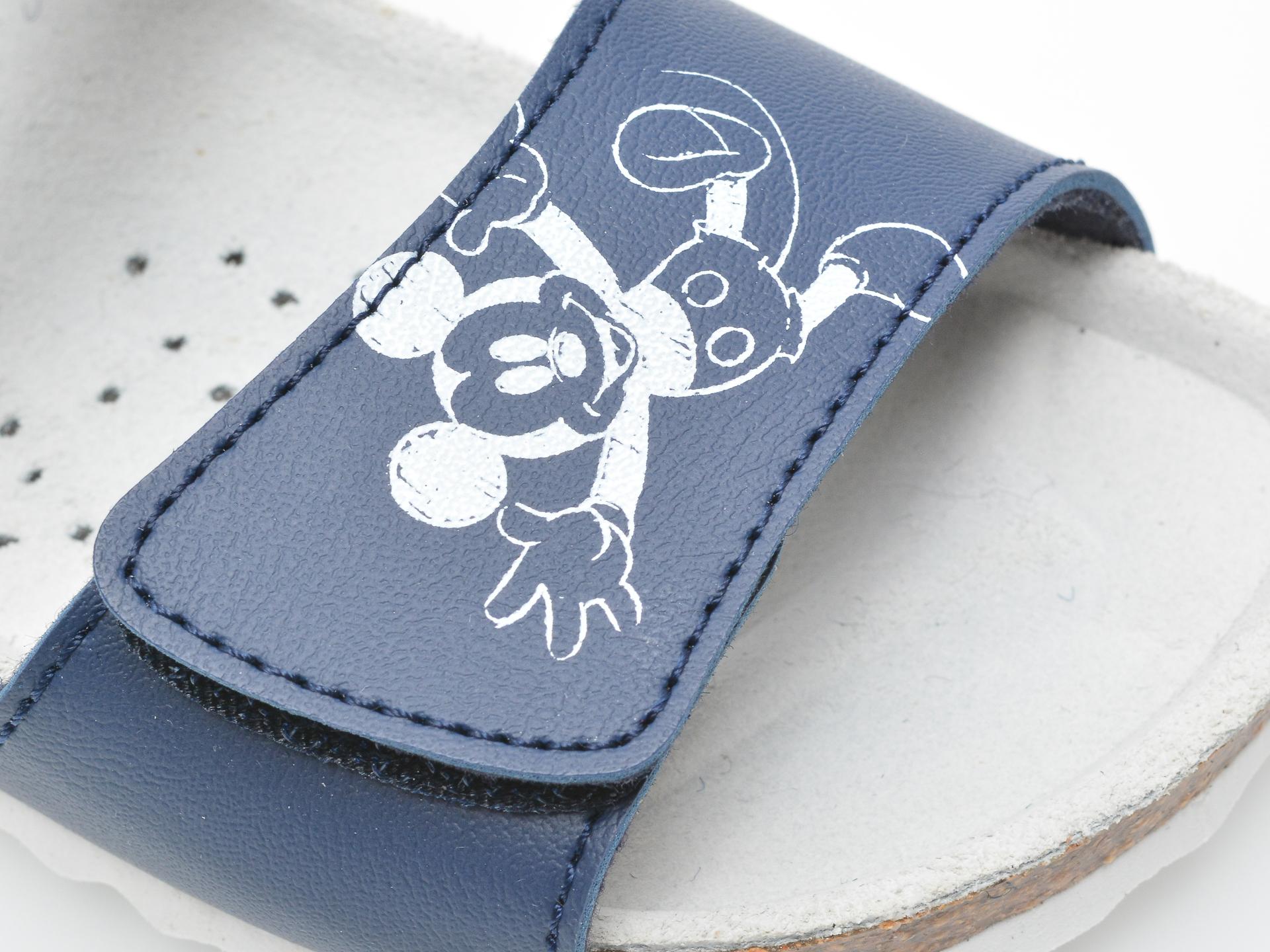 Sandale GEOX albastre, B152QC, din piele ecologica - 2