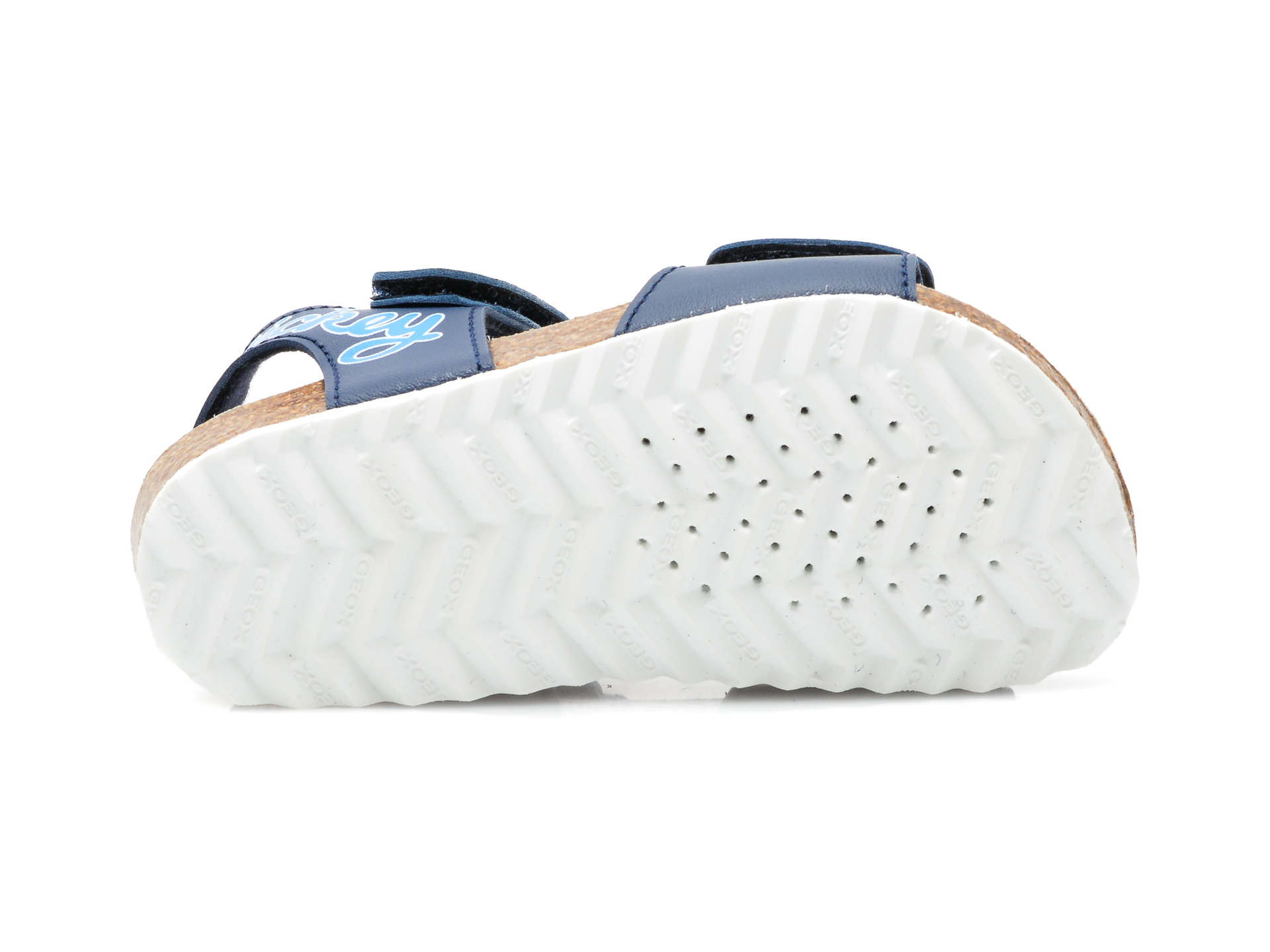 Sandale GEOX albastre, B152QC, din piele ecologica - 7