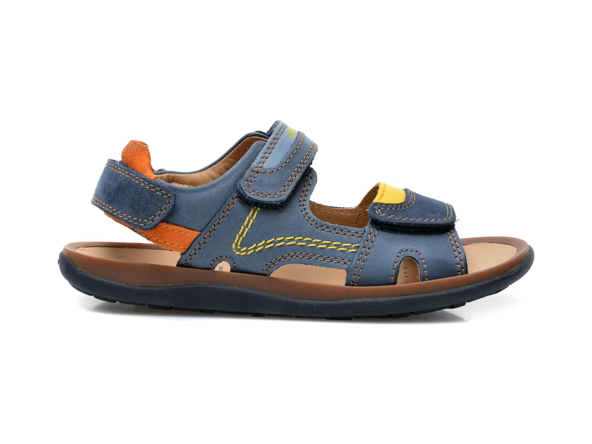 Sandale GEOX bleumarin, J02BBB, din piele naturala - 1