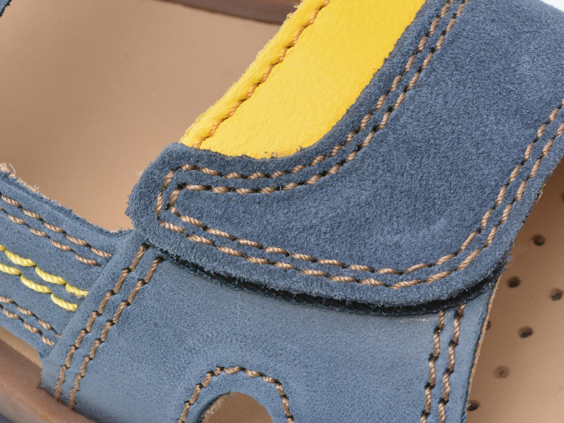 Sandale GEOX bleumarin, J02BBB, din piele naturala - 2
