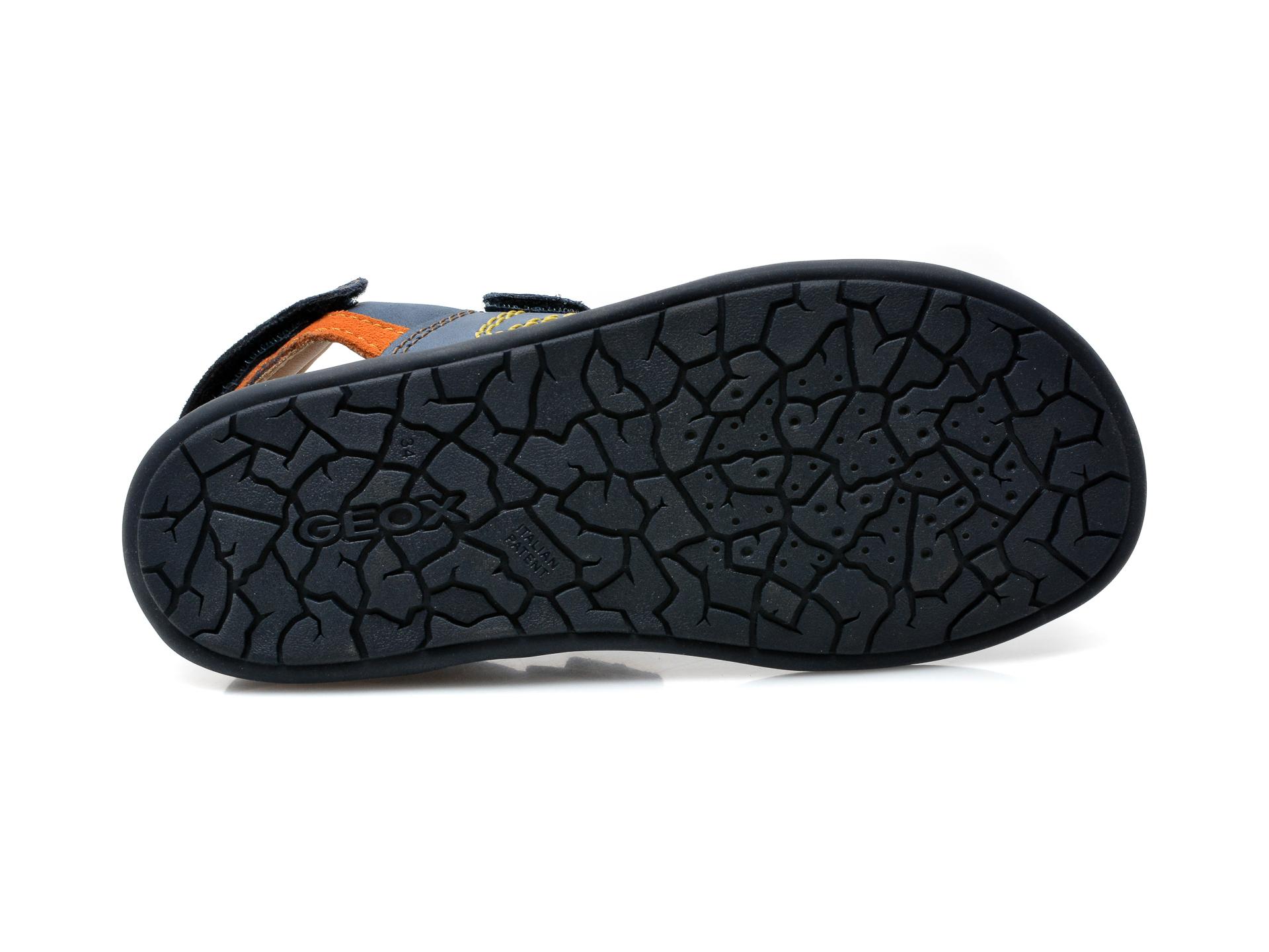 Sandale GEOX bleumarin, J02BBB, din piele naturala - 7