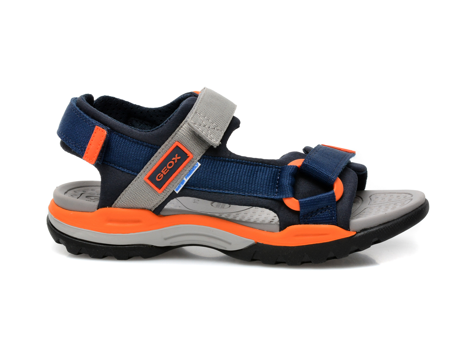 Sandale GEOX bleumarin, J150RA, din material textil - 1