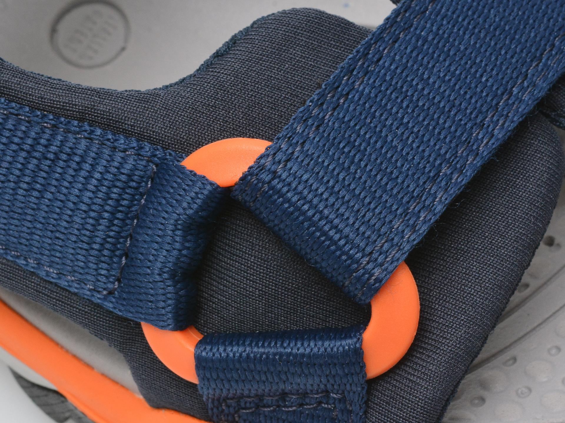 Sandale GEOX bleumarin, J150RA, din material textil - 2
