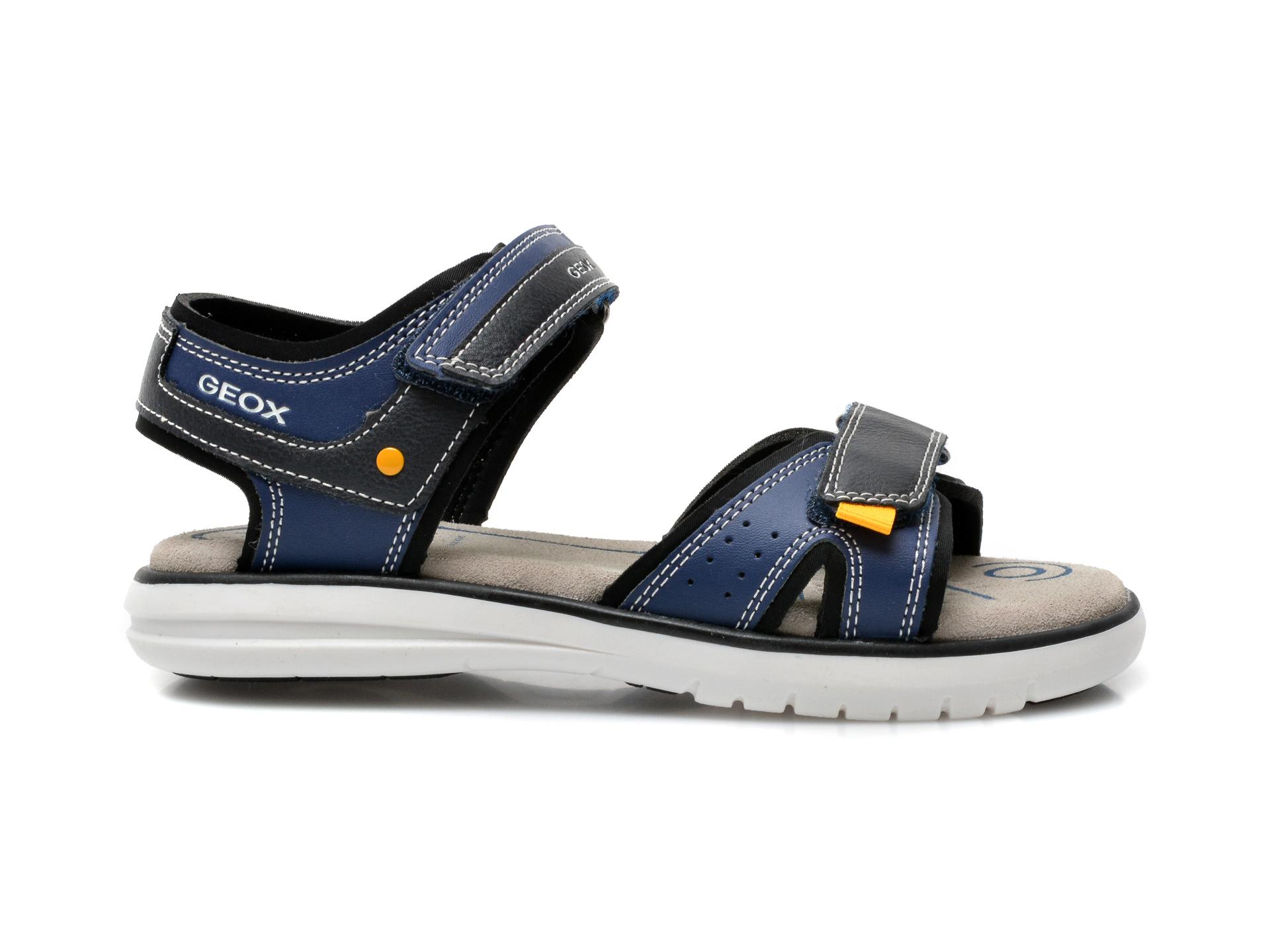 Sandale GEOX bleumarin, J15DRA, din piele ecologica - 1