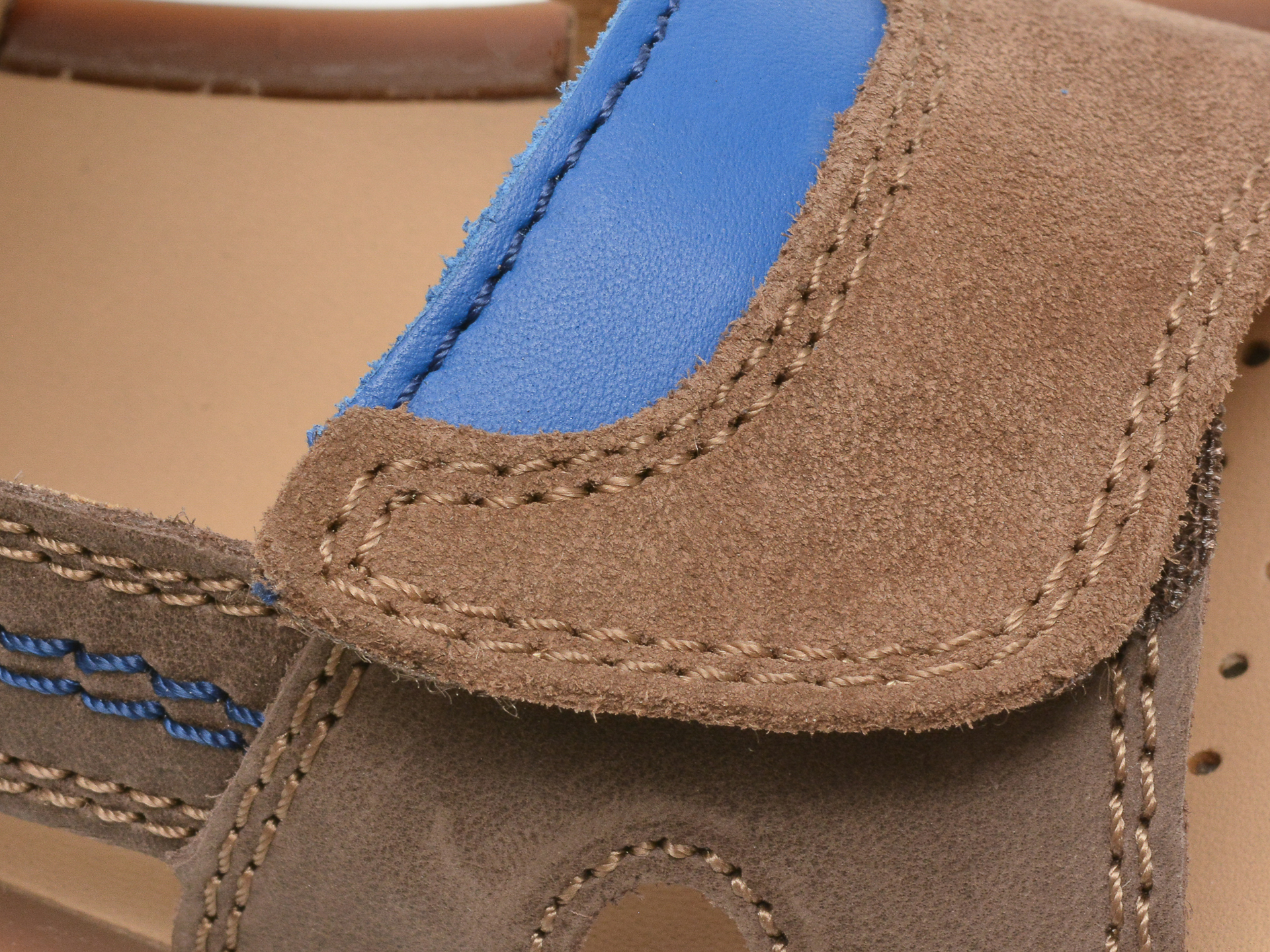 Sandale GEOX maro, J02BBB, din piele naturala - 2