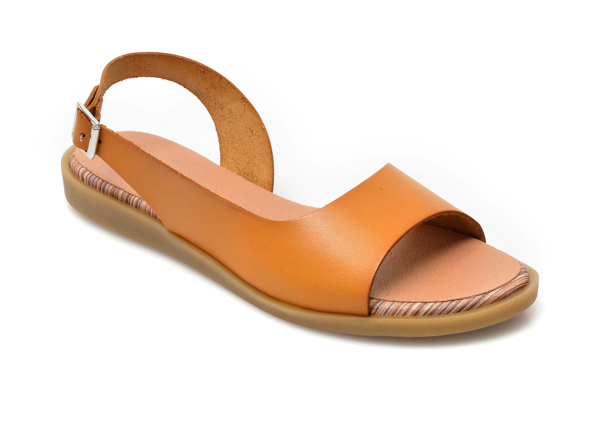 Sandale IMAGE galbene, 1323, din piele naturala imagine otter.ro 2021