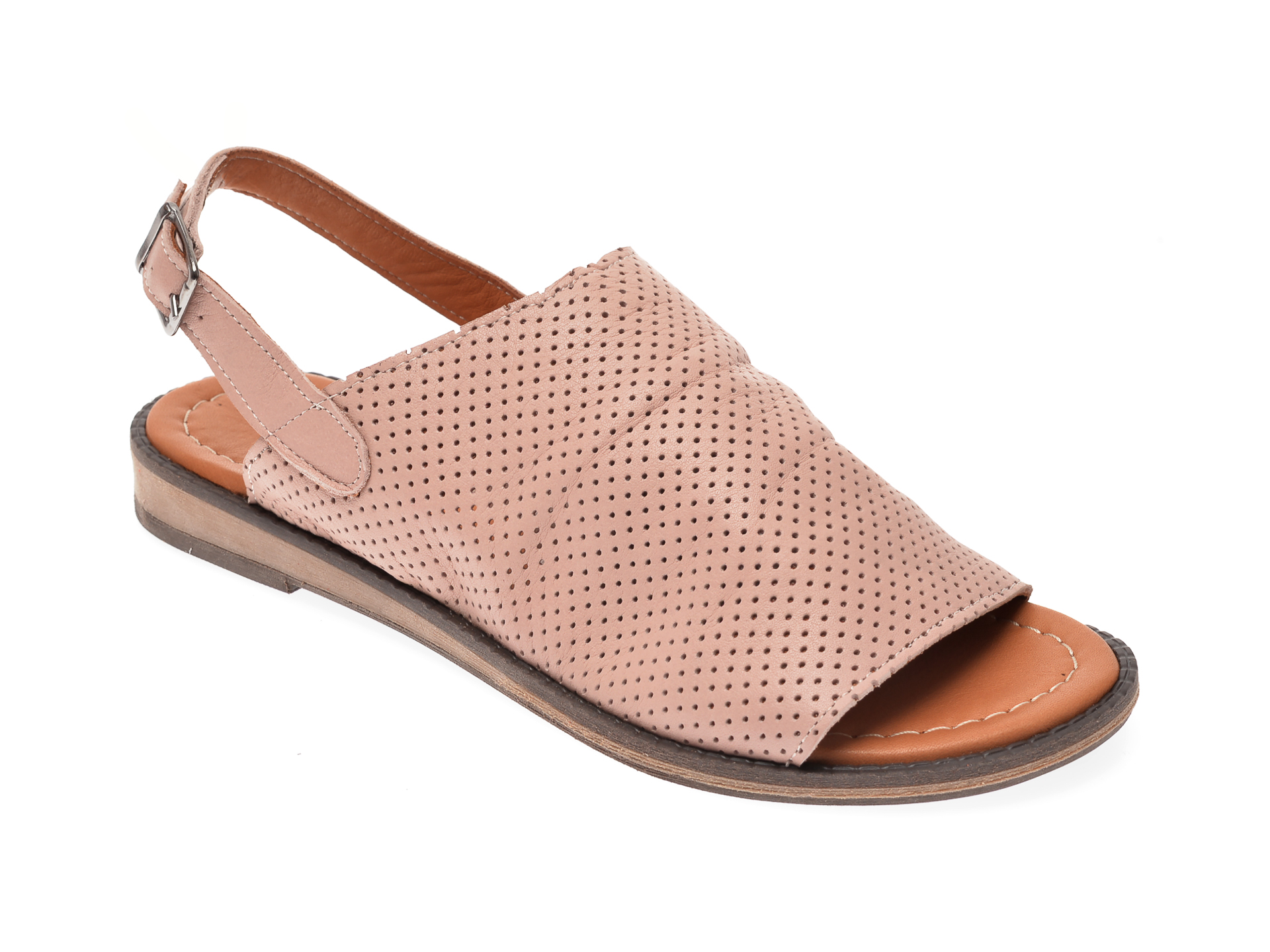 Sandale Image nude, 201, din piele naturala imagine