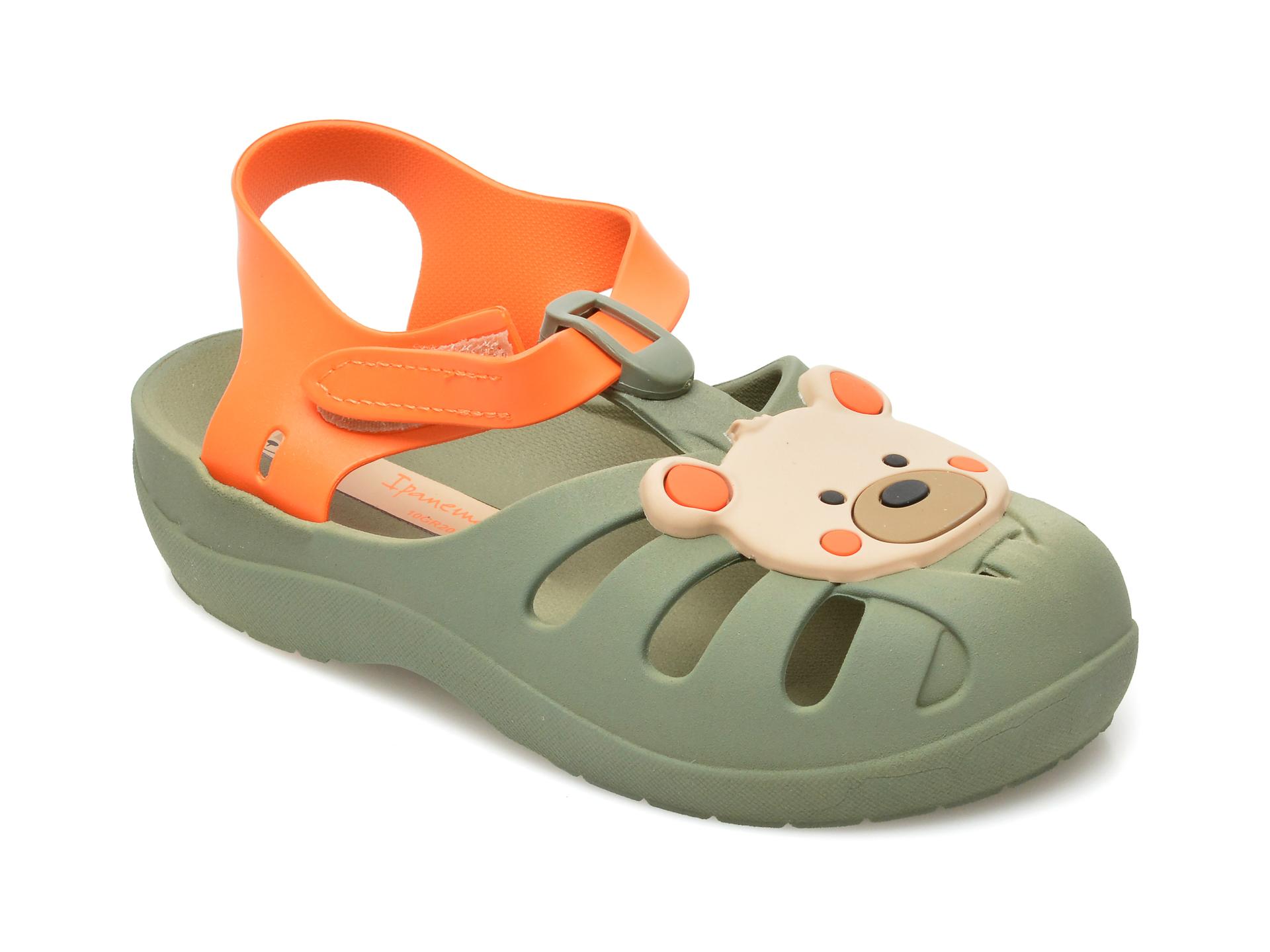 Sandale IPANEMA verzi, 8307489, din pvc