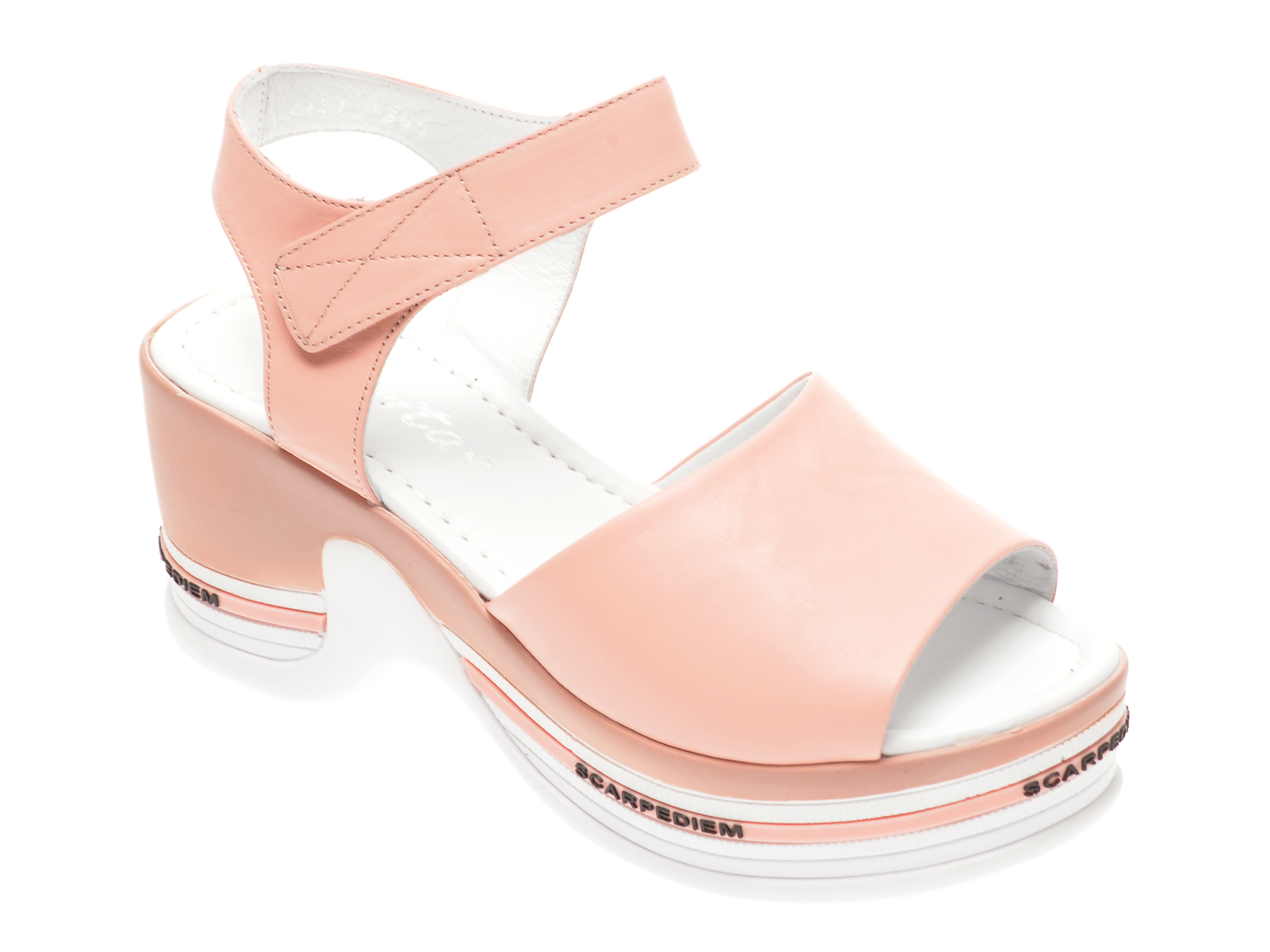 Sandale MISS LIZA roz, 1182451, din piele naturala