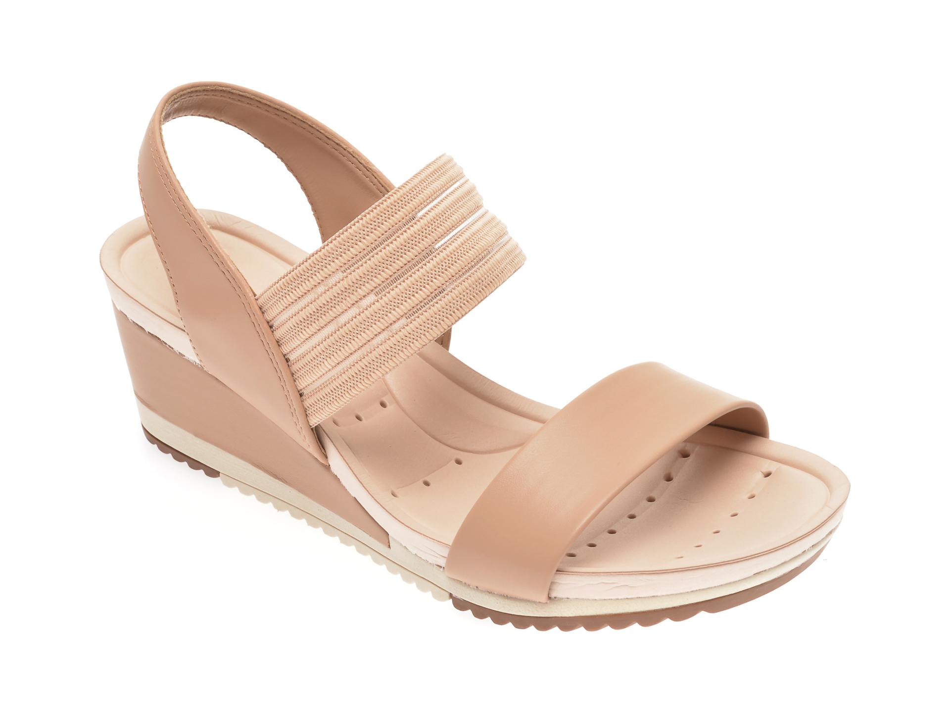 Sandale MODARE bej, 7123107, din piele ecologica