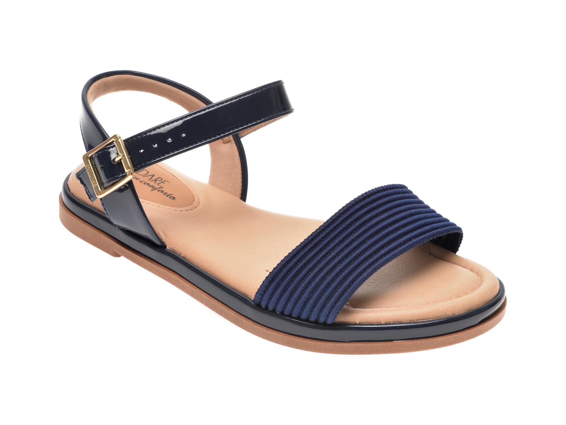 Sandale MODARE bleumarin, 7139108, din piele ecologica