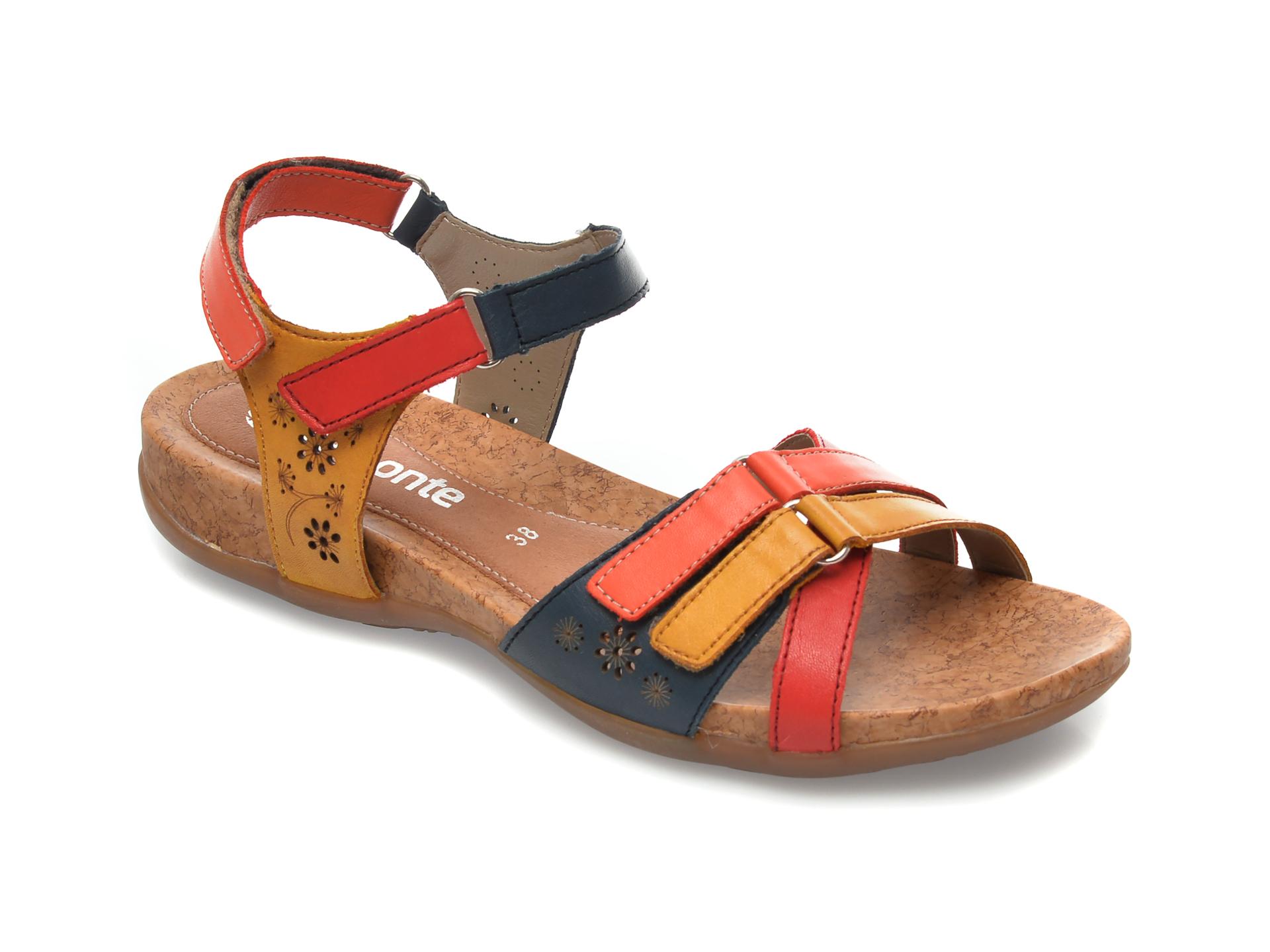 Sandale REMONTE multicolor, R3269, din piele naturala imagine otter.ro 2021