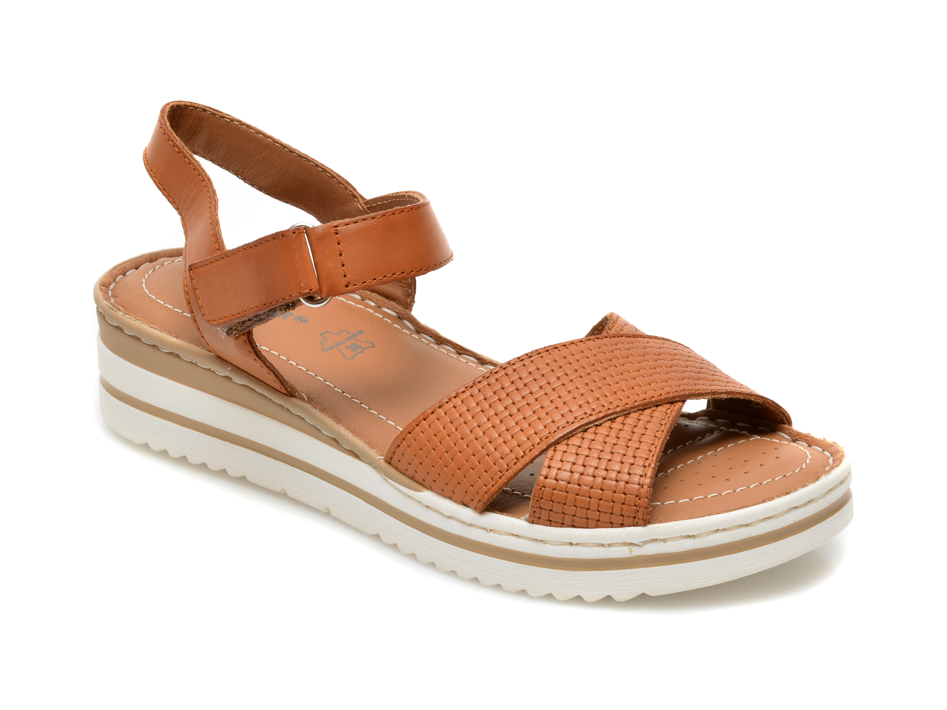 Sandale SALAMANDER maro, 34101, din piele naturala imagine otter.ro 2021