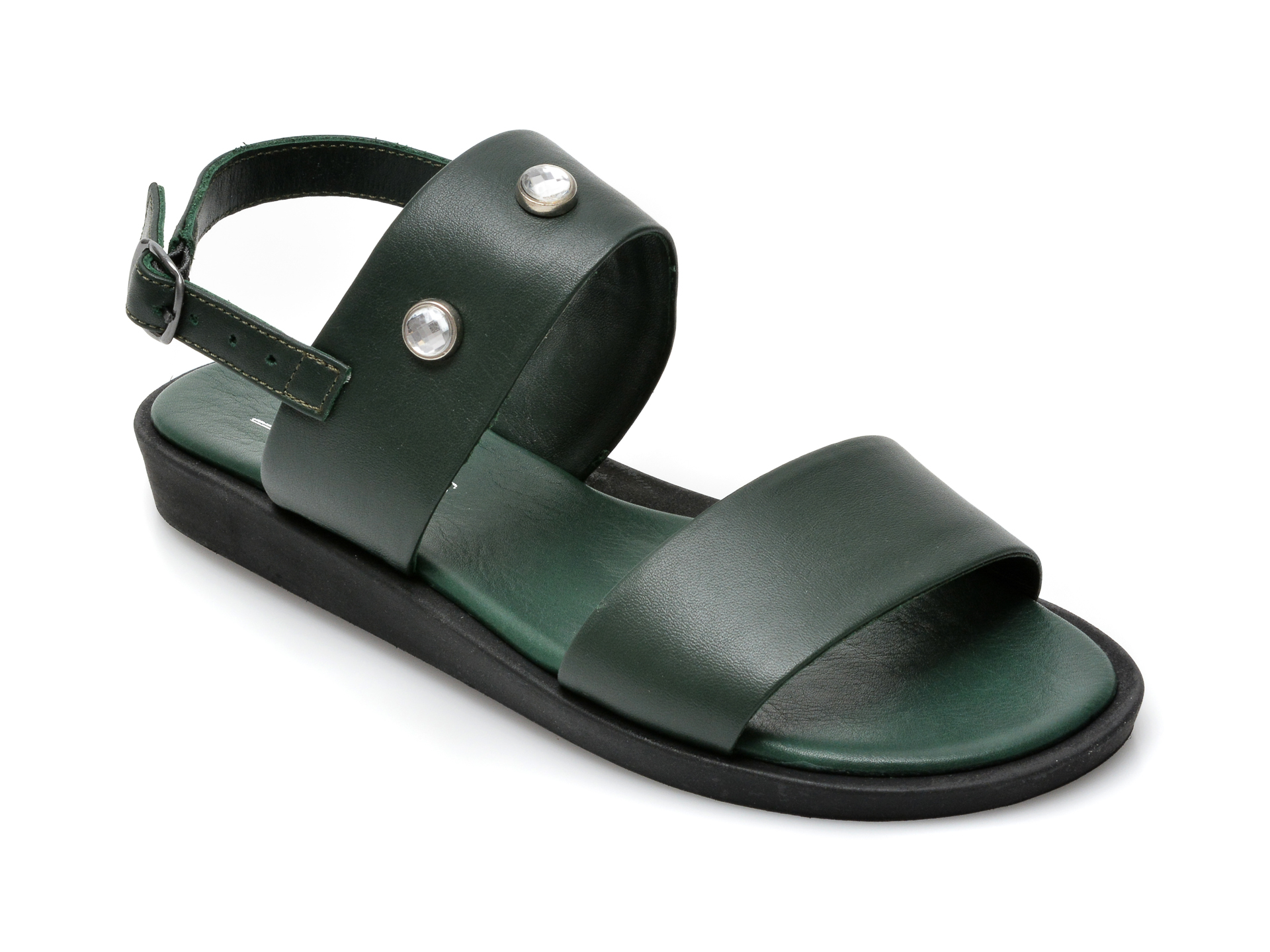 Sandale SCARPEDIEM verzi, 2526SH, din piele naturala imagine otter.ro 2021
