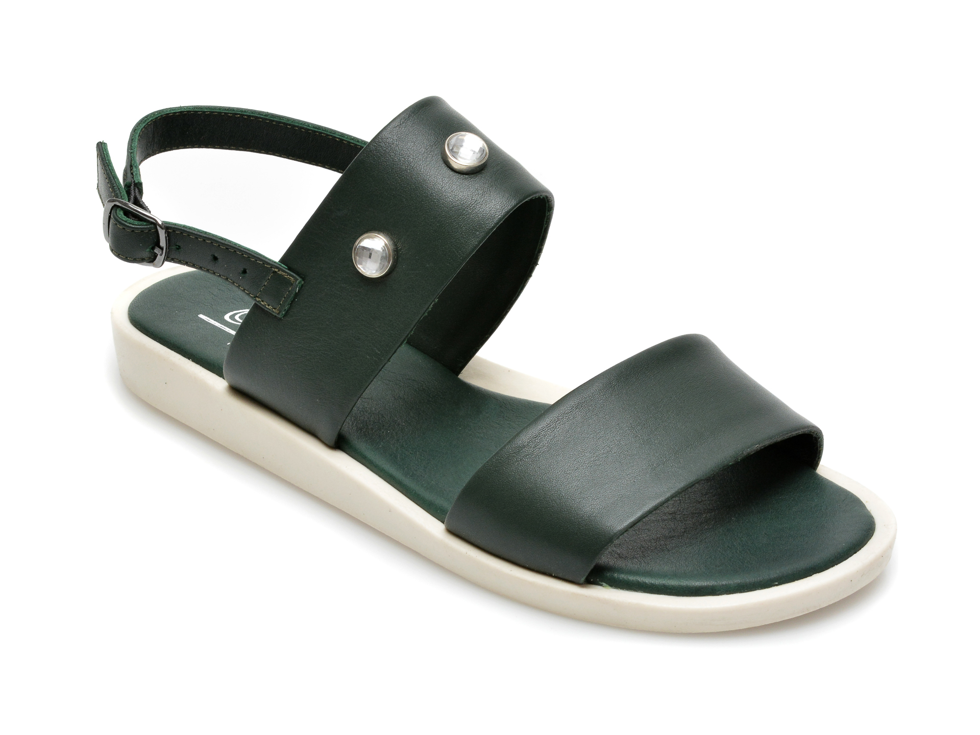 Sandale SHADE verzi, 2526, din piele naturala imagine otter.ro 2021