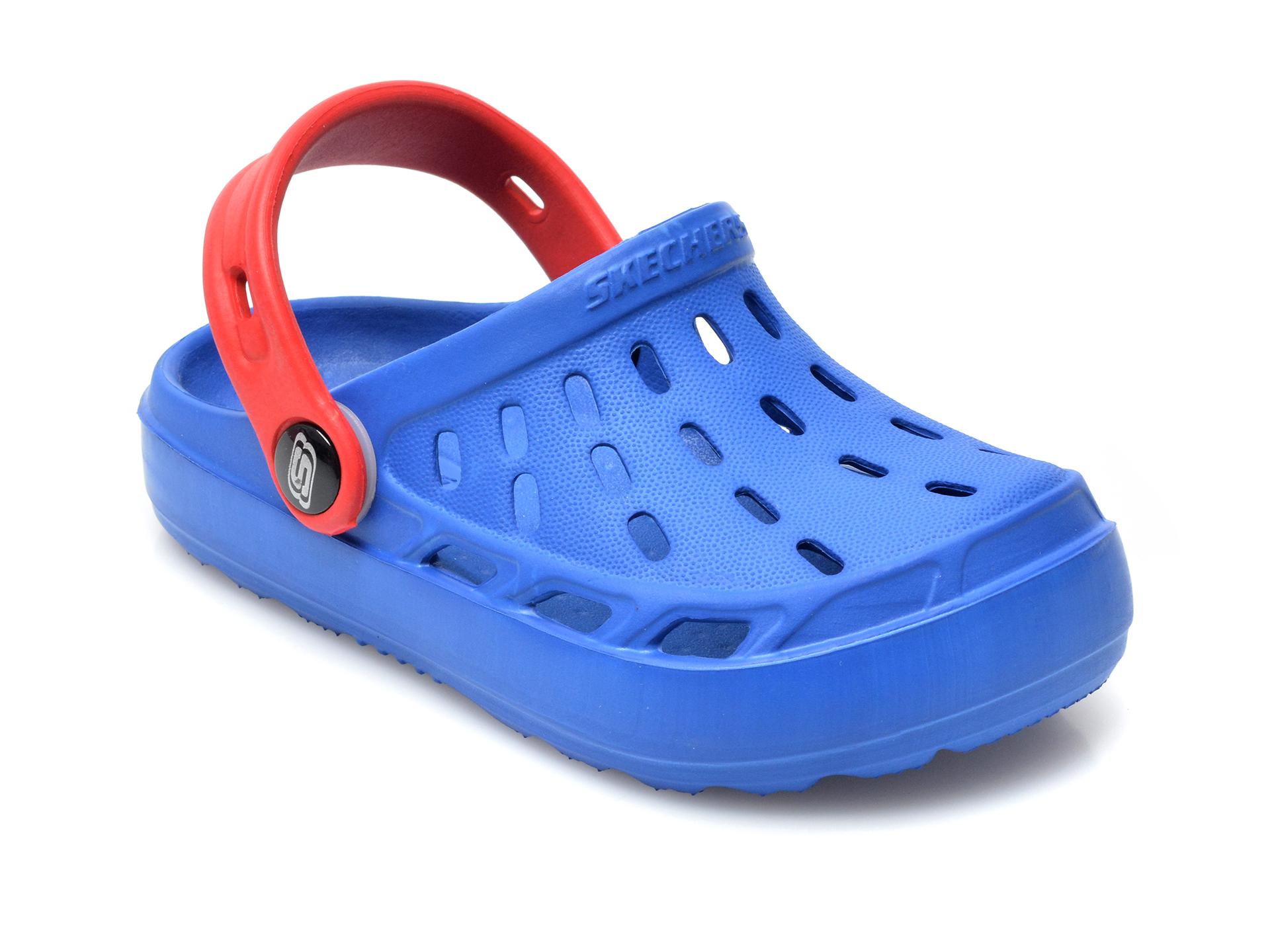 Sandale SKECHERS albastre, Swifters, din pvc