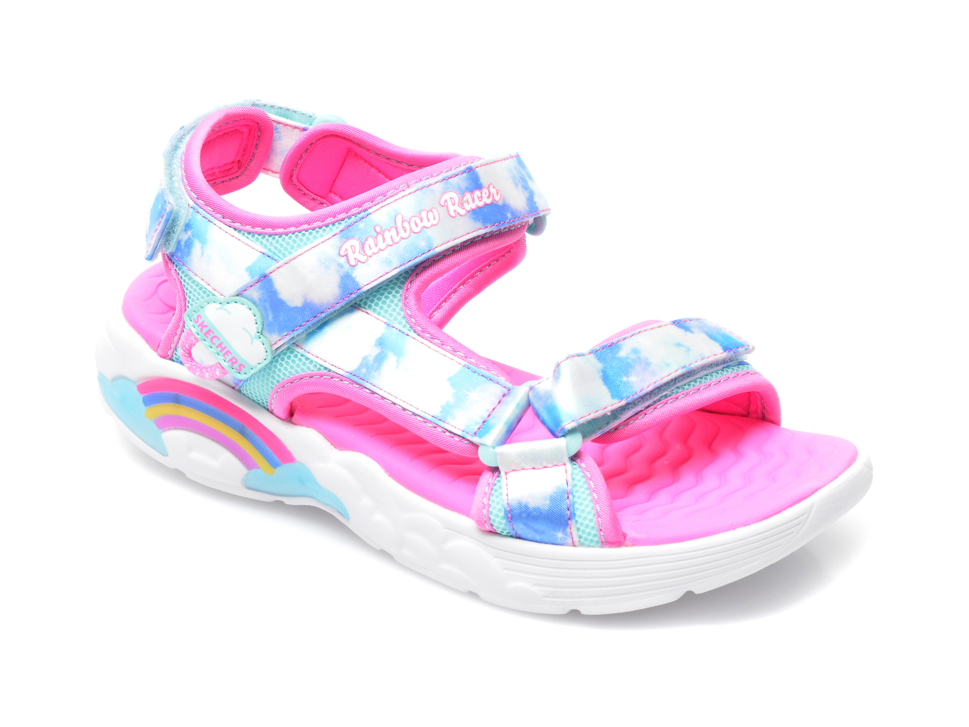Sandale SKECHERS multicolor, 302975L, din material textil