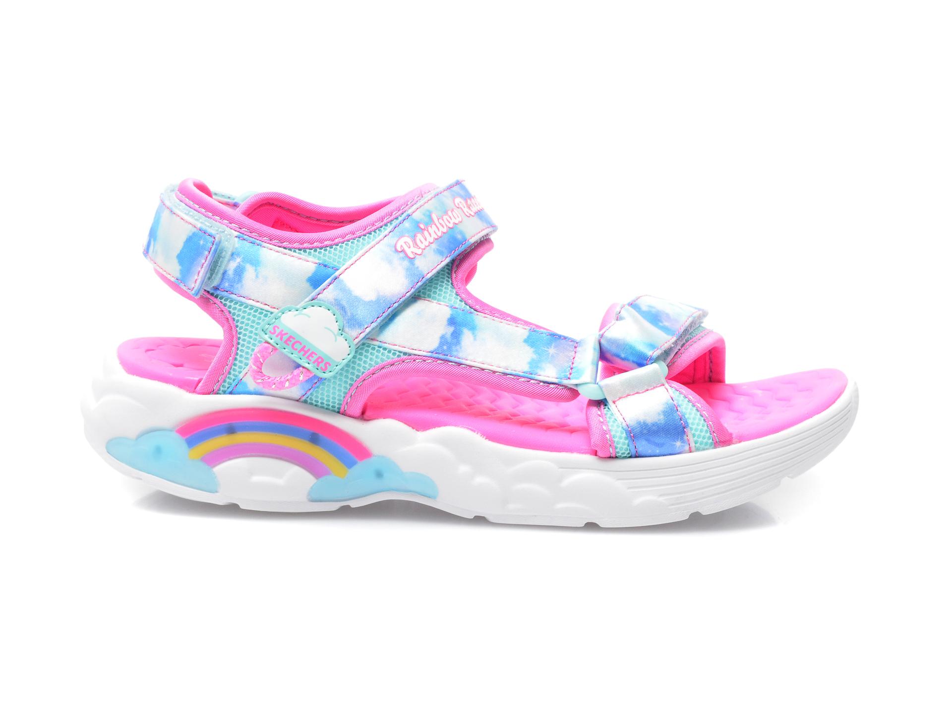 Sandale SKECHERS multicolor, 302975L, din material textil - 1