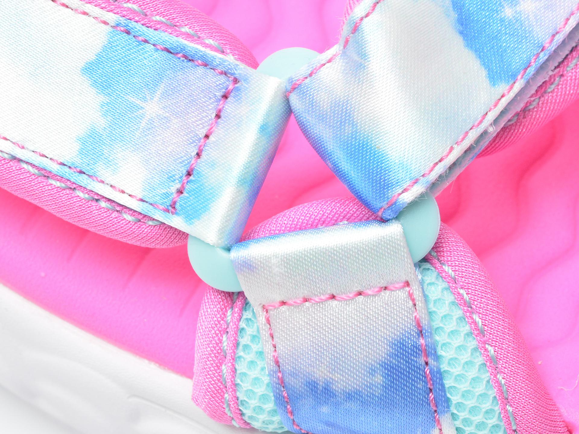 Sandale SKECHERS multicolor, 302975L, din material textil - 2