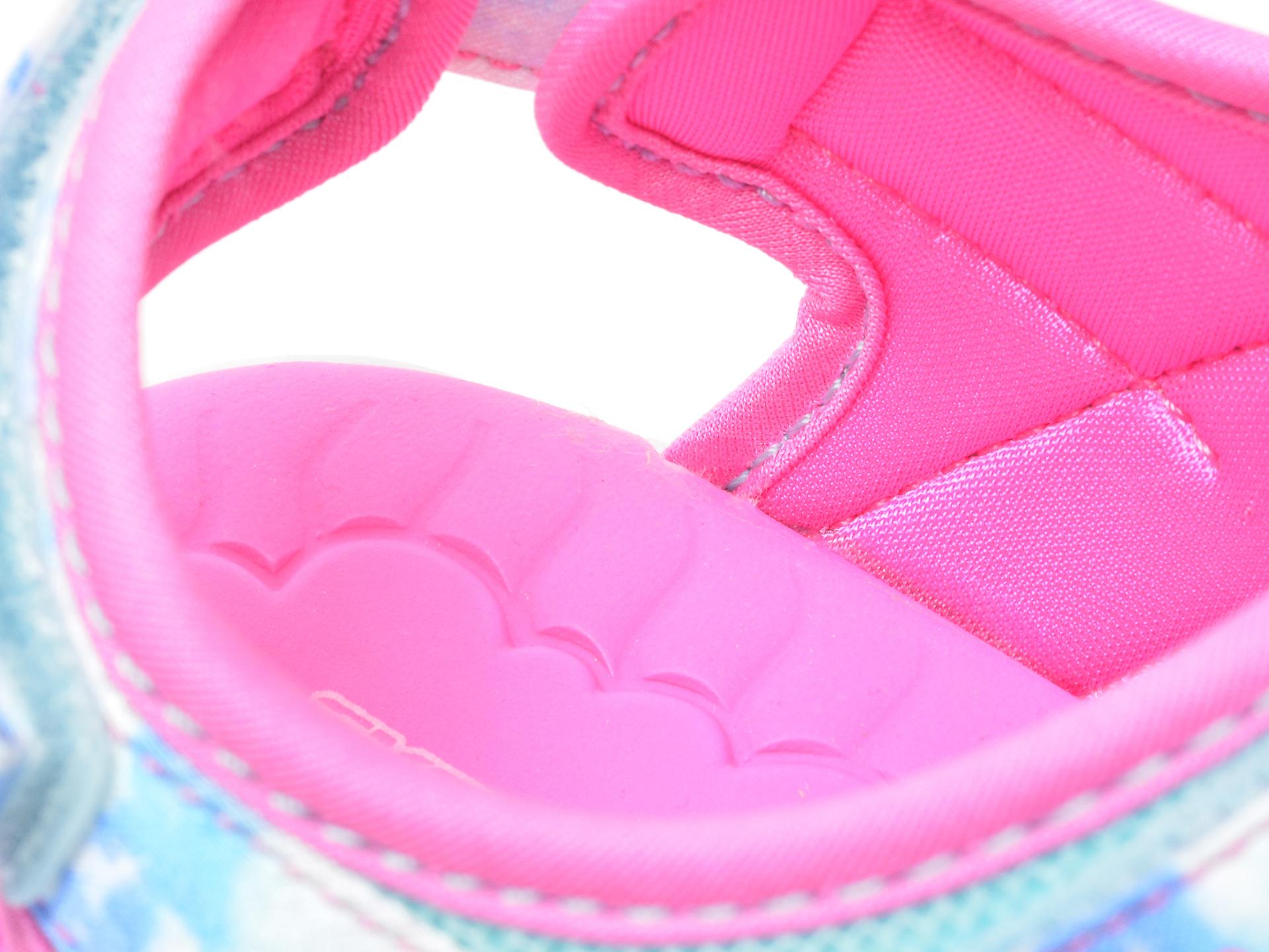 Sandale SKECHERS multicolor, 302975L, din material textil - 3