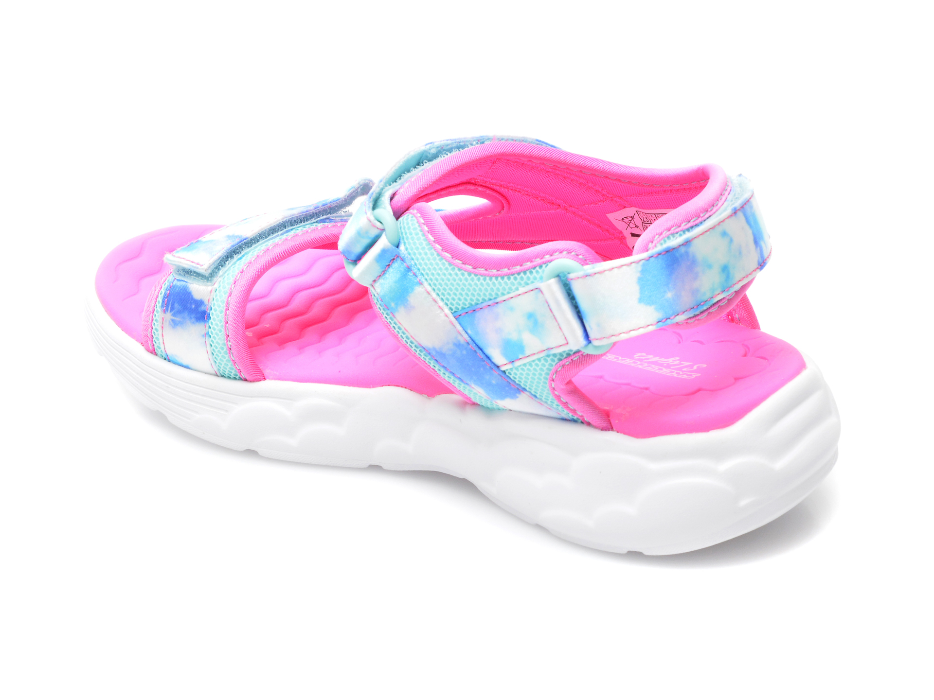 Sandale SKECHERS multicolor, 302975L, din material textil - 5