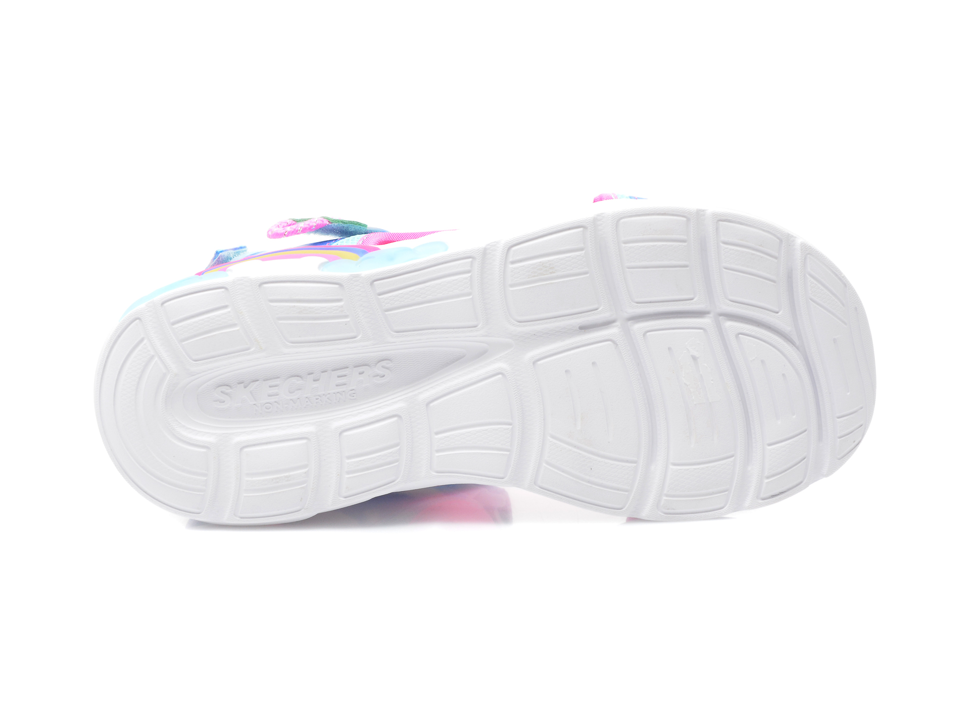 Sandale SKECHERS multicolor, 302975L, din material textil - 7