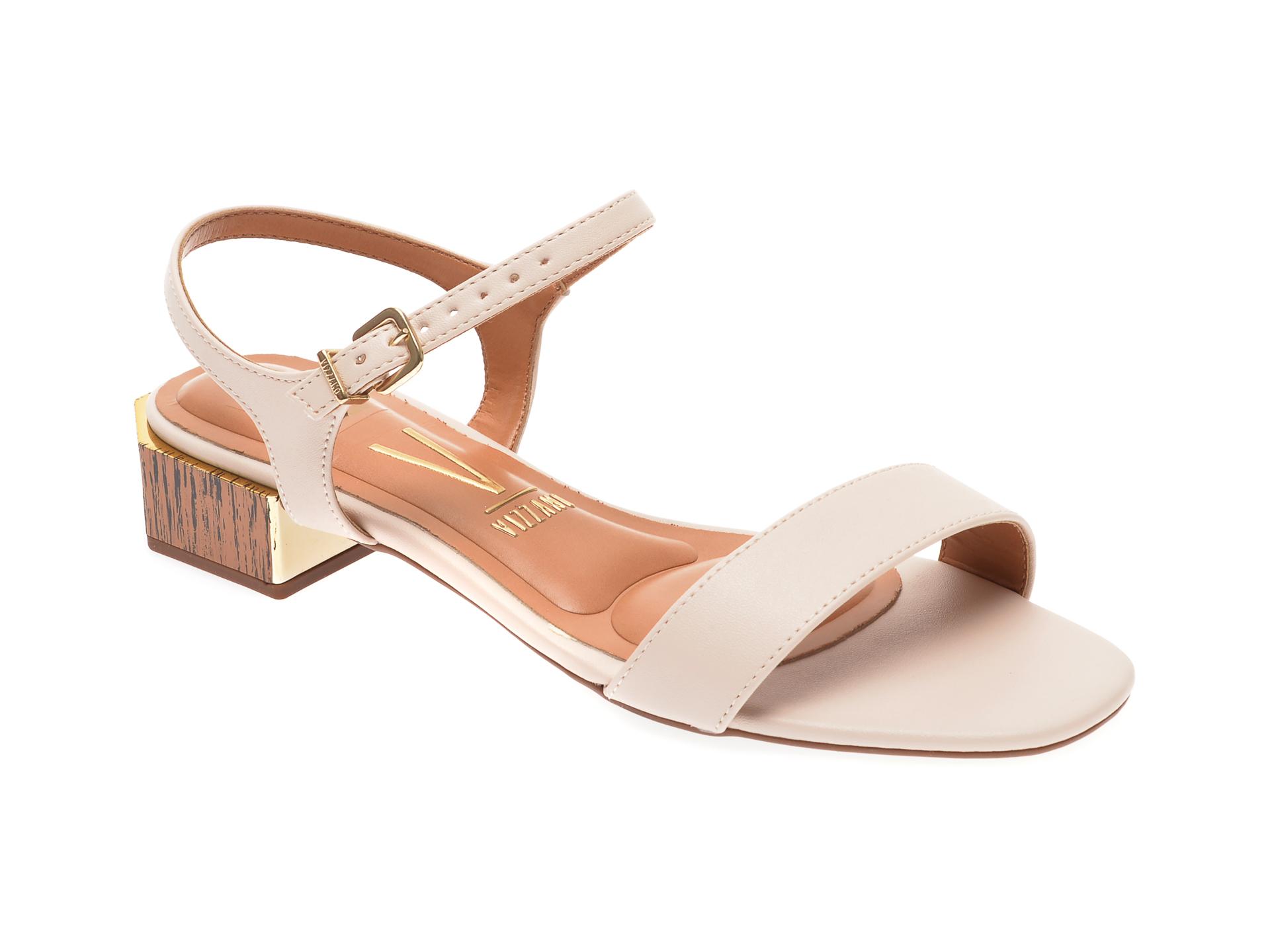 Sandale VIZZANO bej, 6423201, din piele ecologica