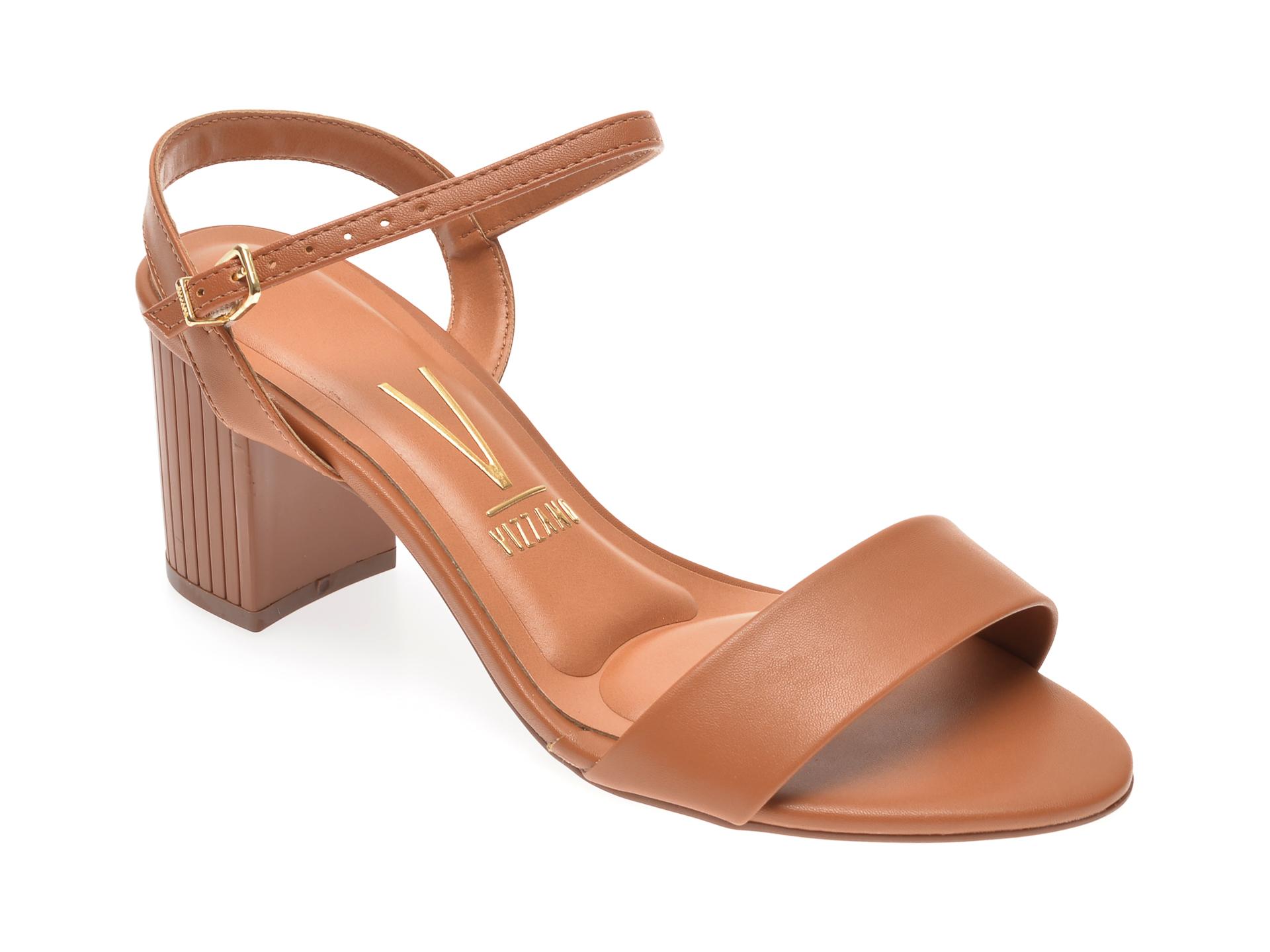 Sandale VIZZANO maro, 6375304, din piele ecologica