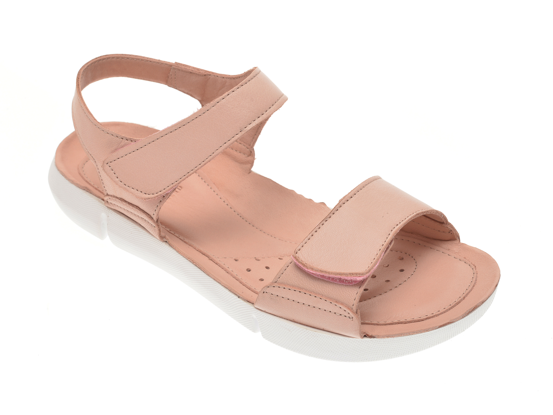 Sandale X TREND nude, 6004, din piele naturala New