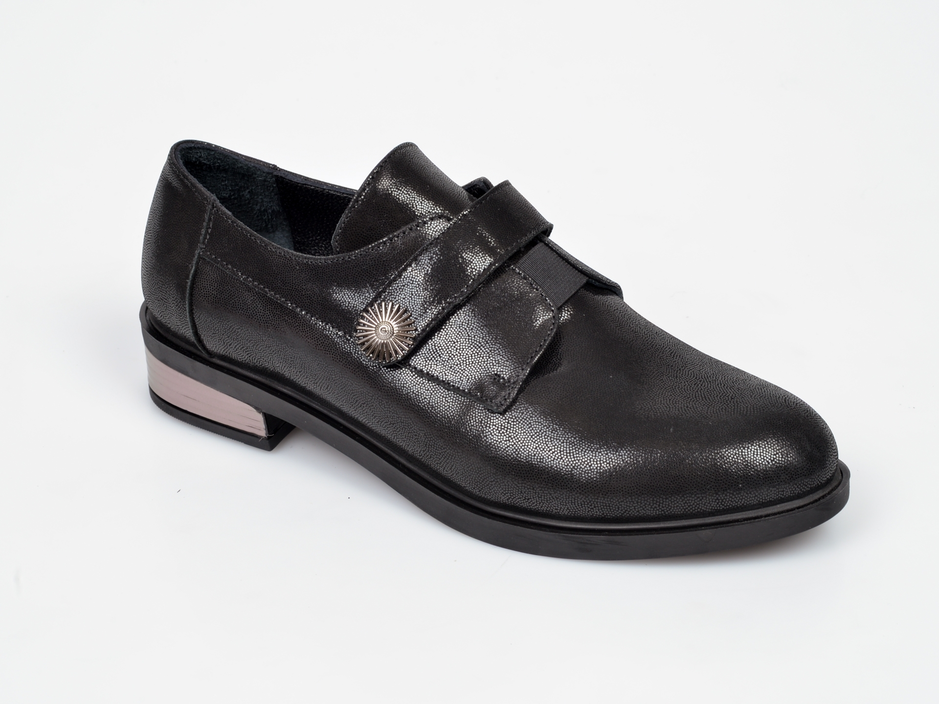 Pantofi FLAVIA PASSINI negri, NR8012, din piele naturala