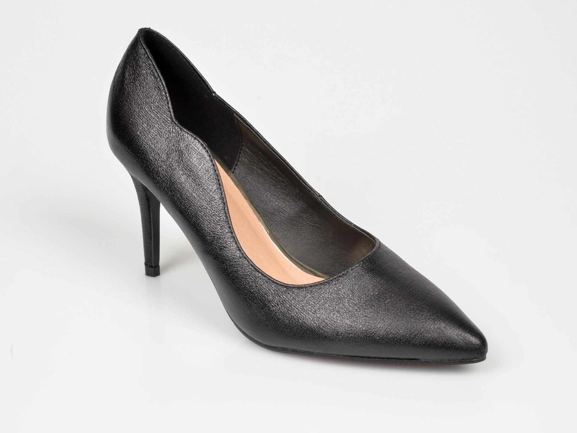 Pantofi Menbur Negri, 20901, Din Piele Ecologica